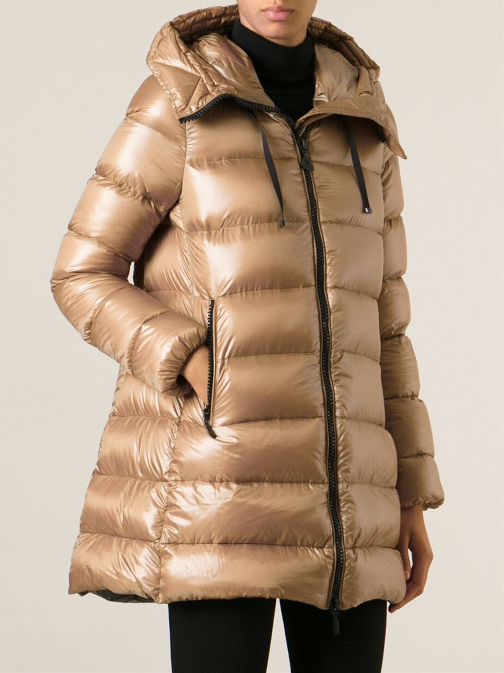 Moncler Suyen Padded Jacket In Brown Lyst