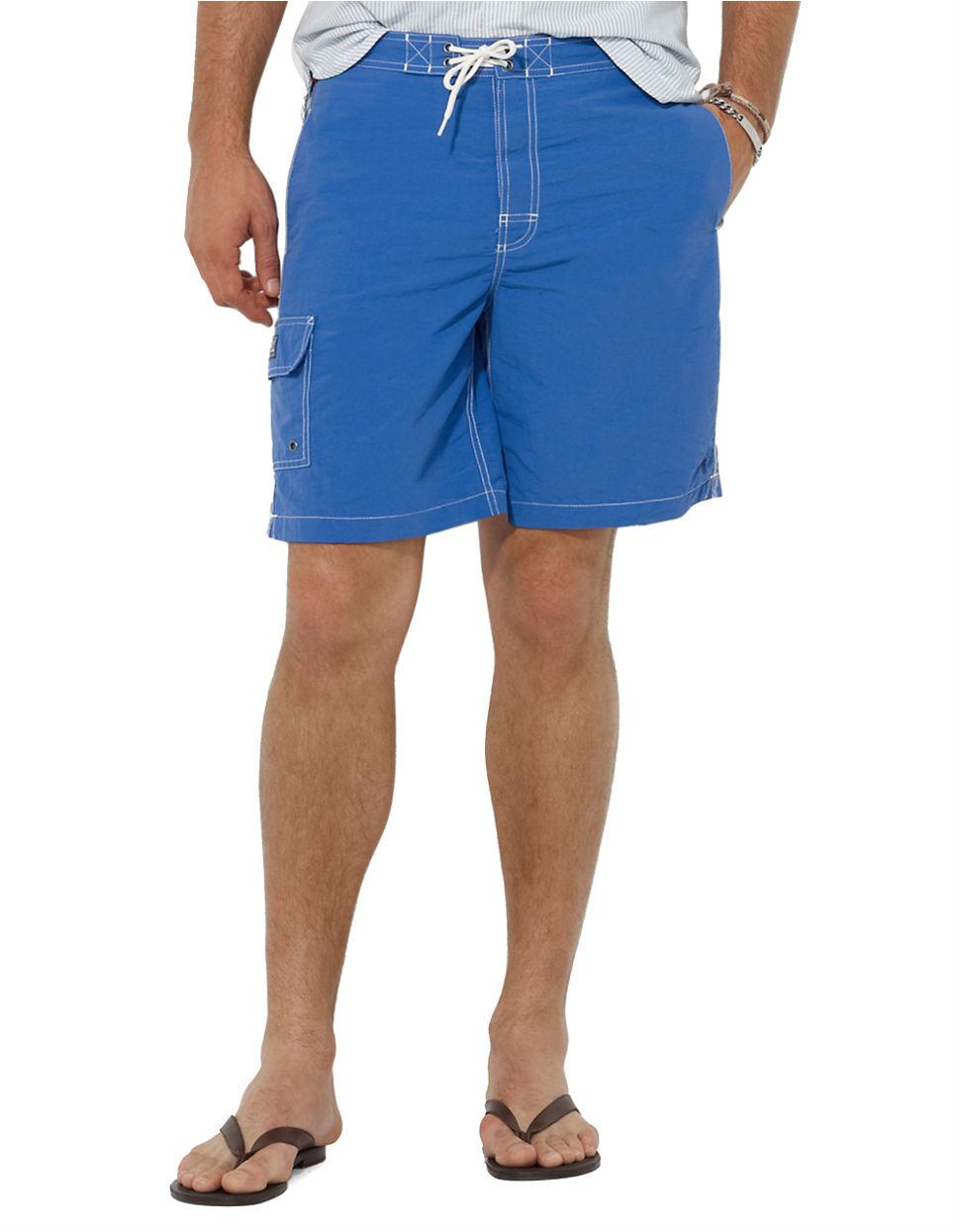 c14a22b37ab28 Lyst - Polo Ralph Lauren Kailua Swim Trunks in Blue for Men