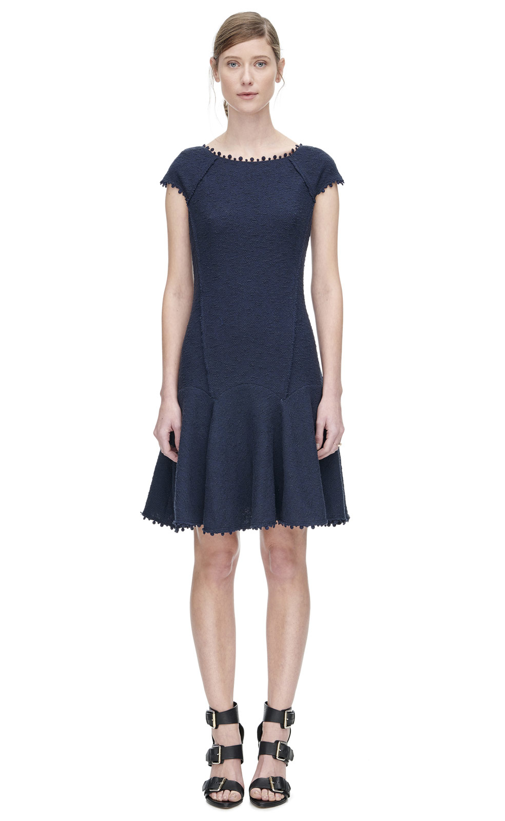 REBECCA TAYLOR Zadie Fleur Short Smock Waist Dress - We