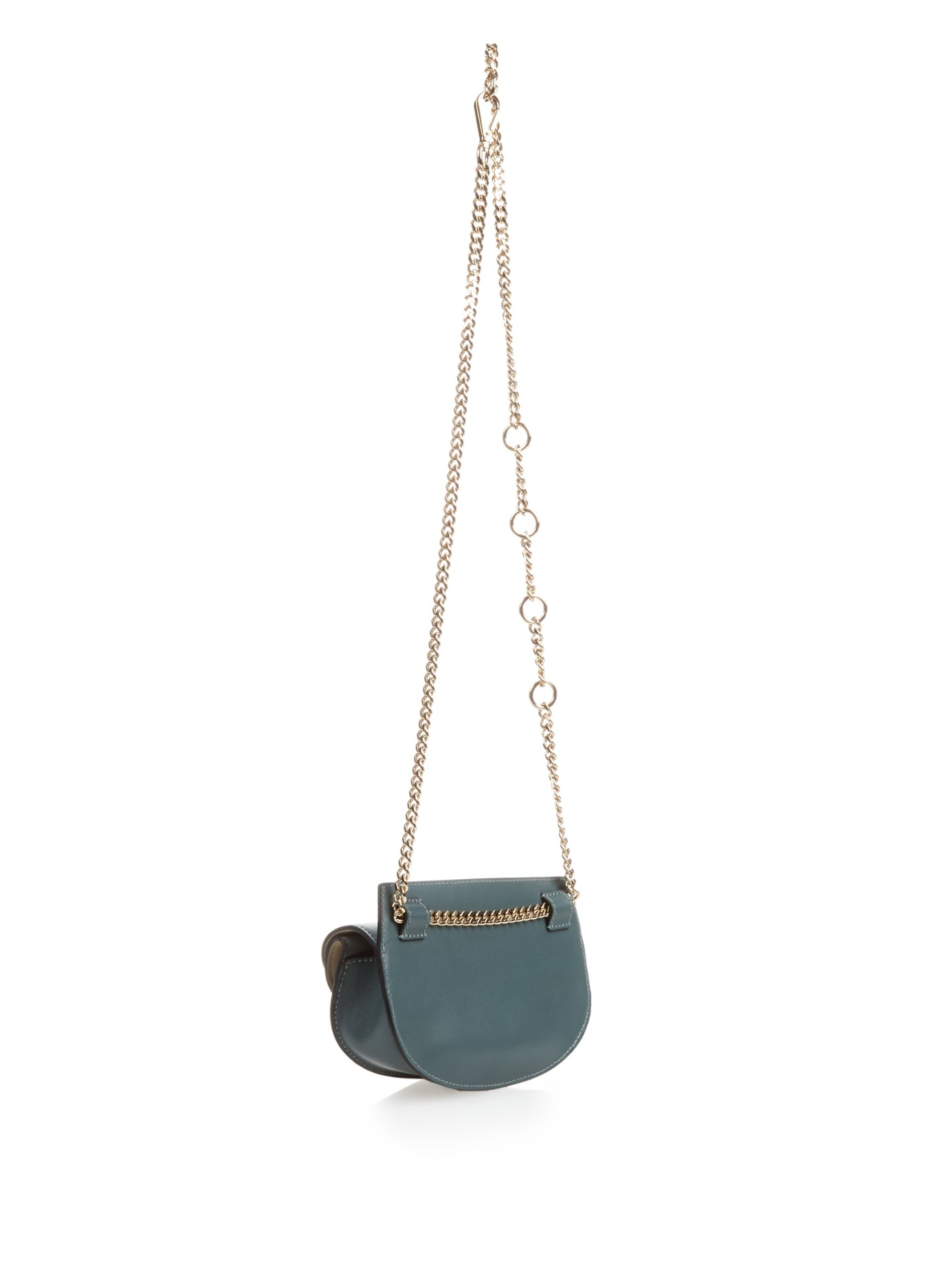 chloe handbags fake - Chlo�� Georgia Leather Cross-body Bag in Blue (LIGHT BLUE) | Lyst