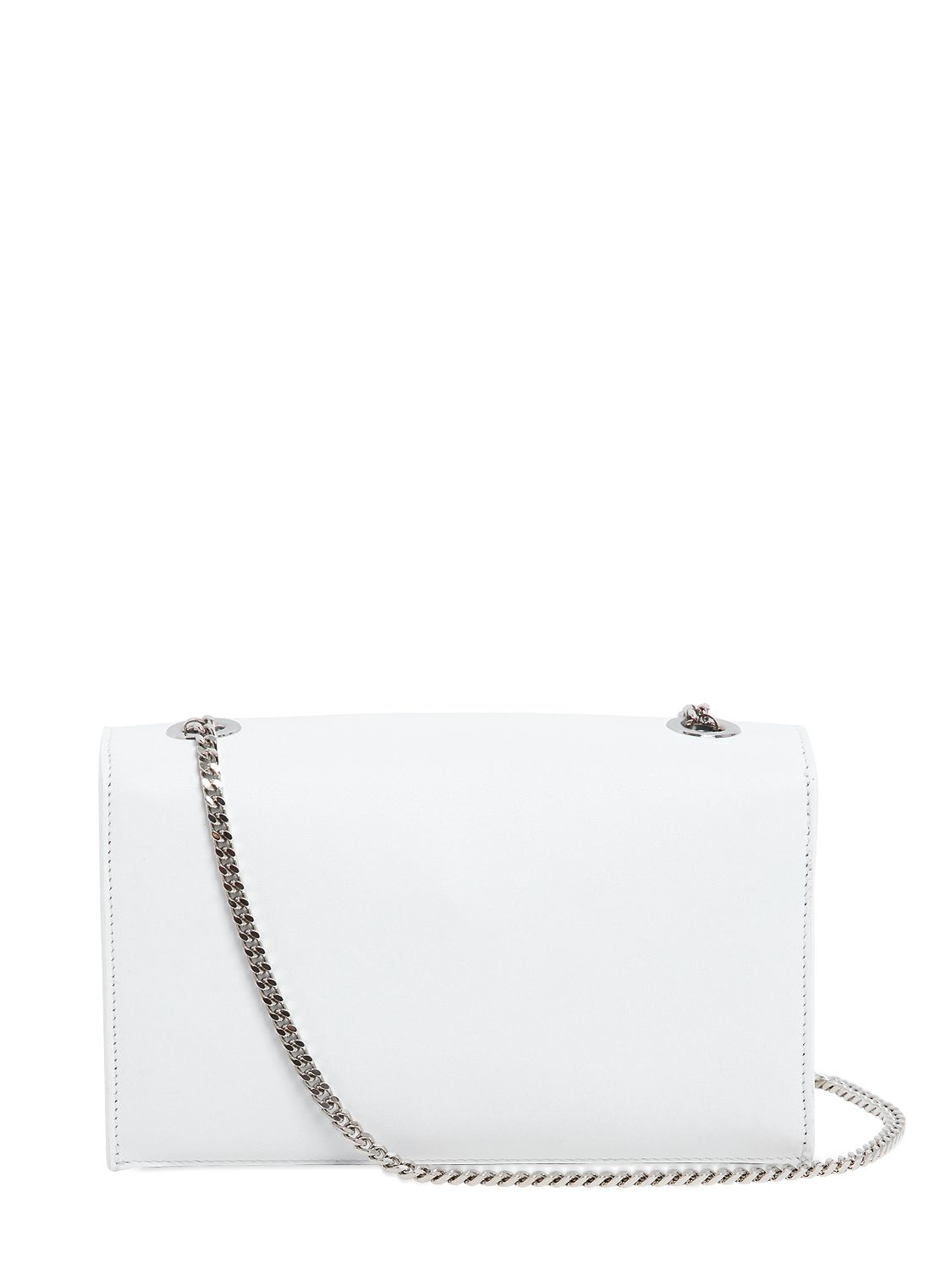 Versus Small Lion Head Leather Shoulder Bag in White | Lyst