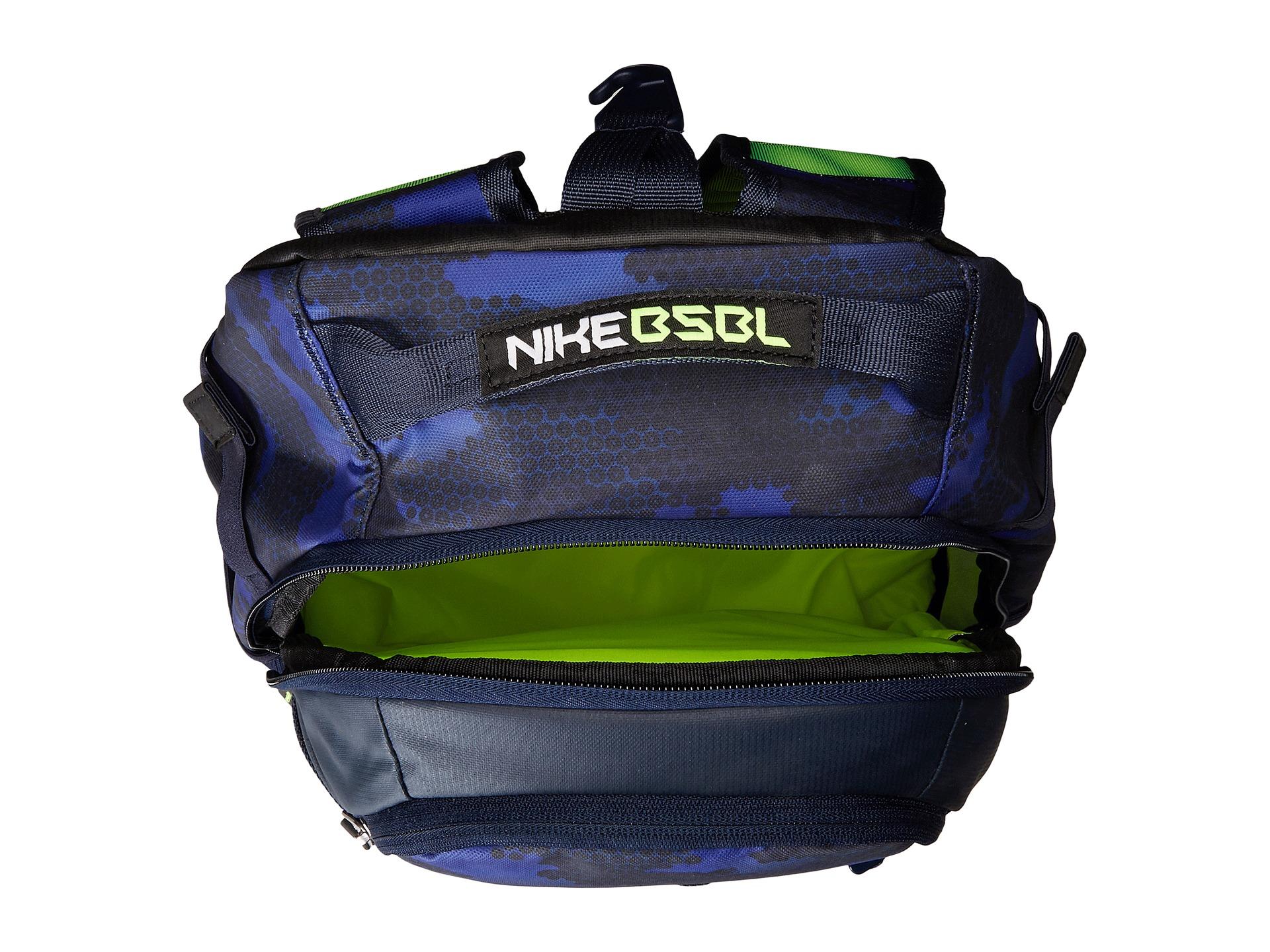 Lyst - Nike Vapor Elite Bat Backpack Graphic in Blue for Men f60fc4d577863