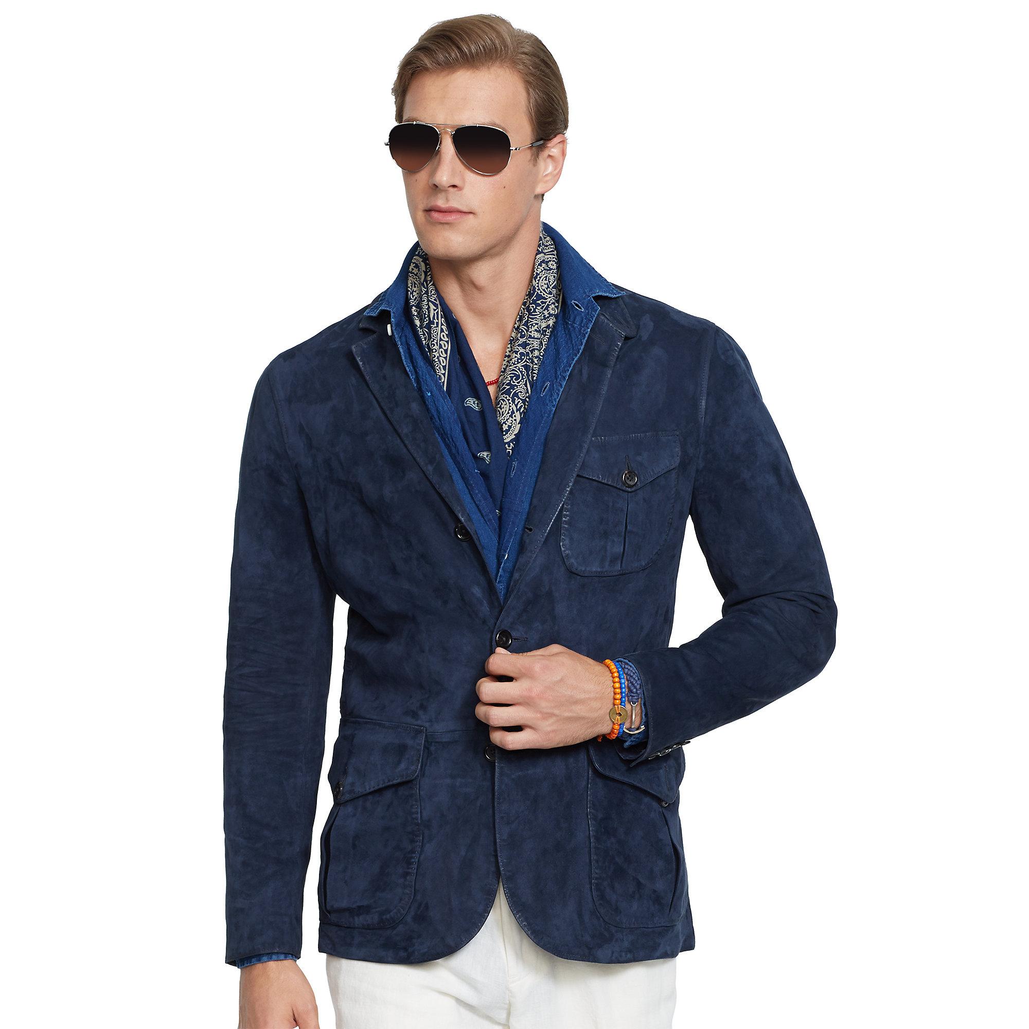 Suede Sport Coat