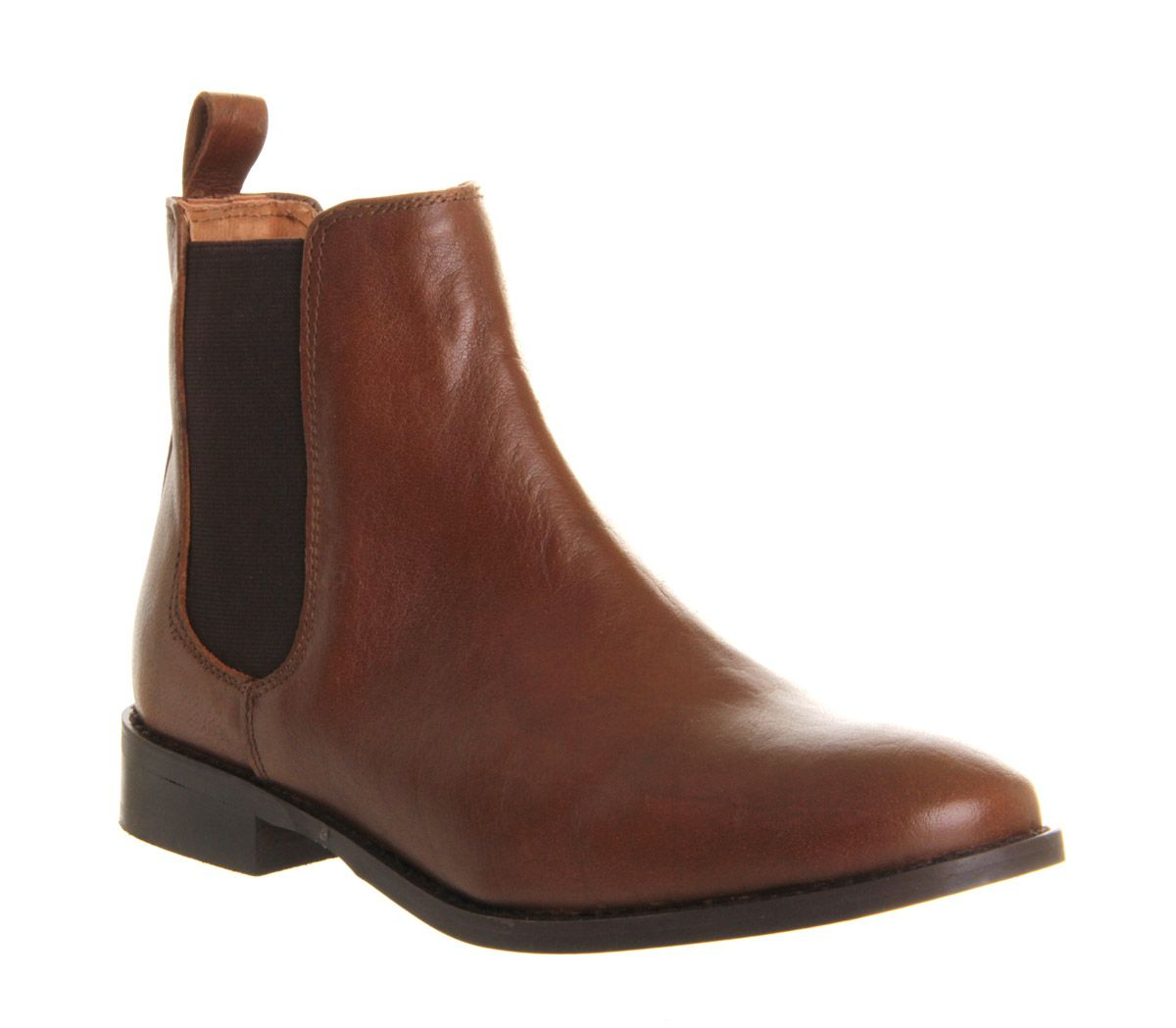 office bramble chelsea boots in brown lyst. Black Bedroom Furniture Sets. Home Design Ideas