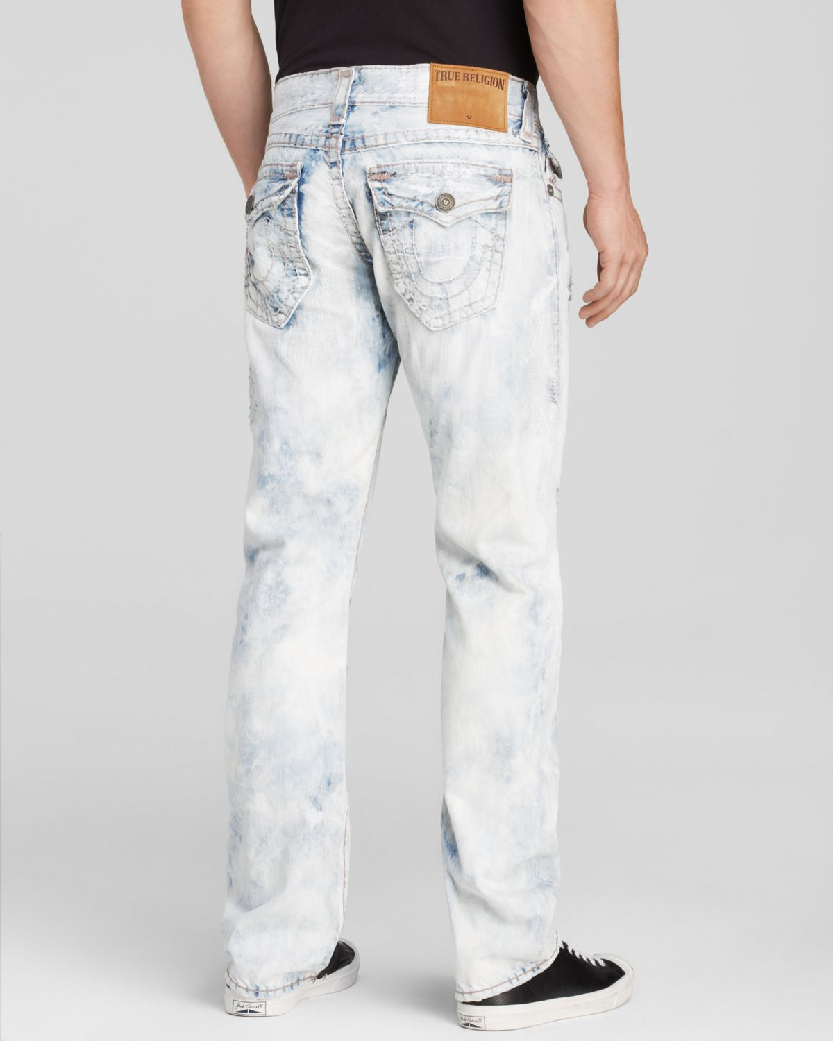 b1799ae707538 True Religion Jeans - Super T Ricky Relaxed Straight Fit In Mineral ...