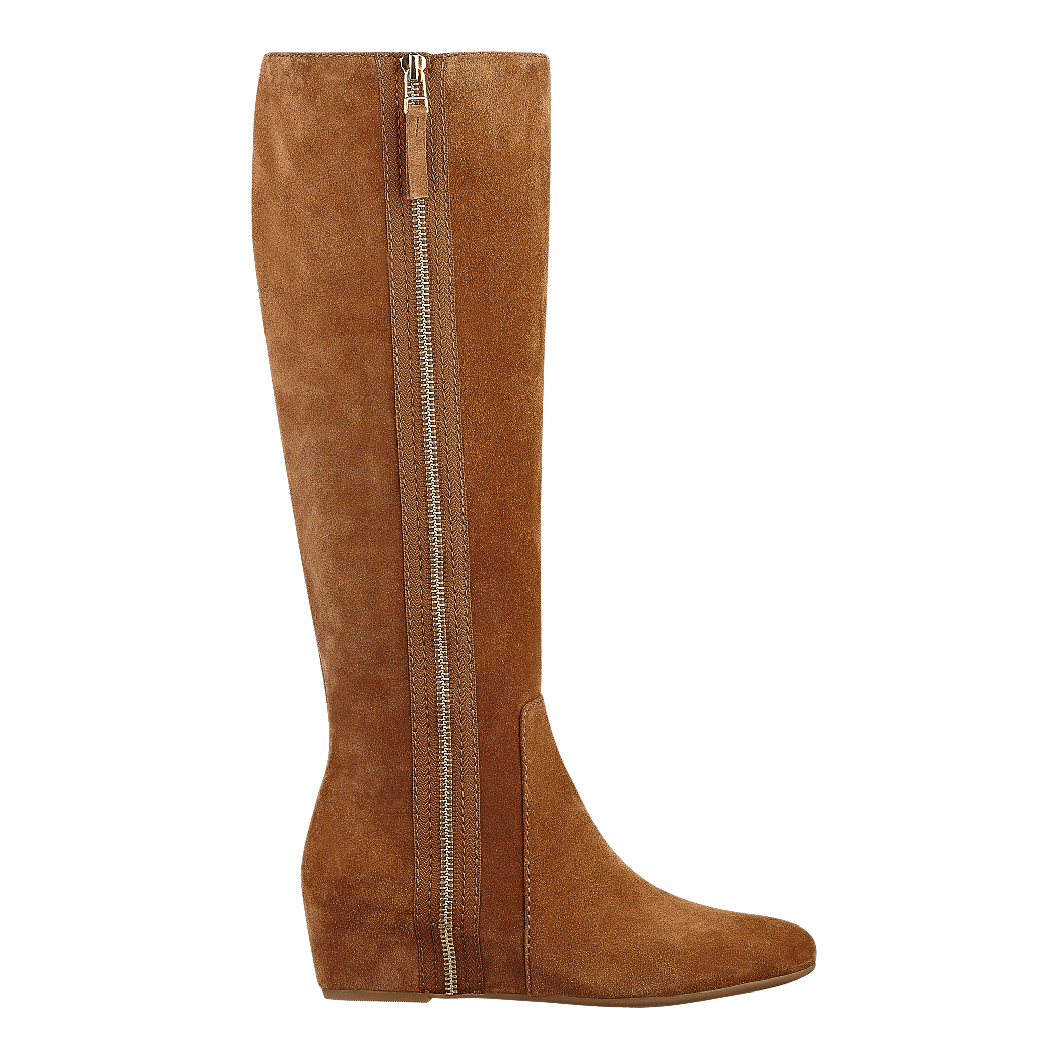 Nine West Malcet Tall Boots in Brown (BROWN SUEDE)