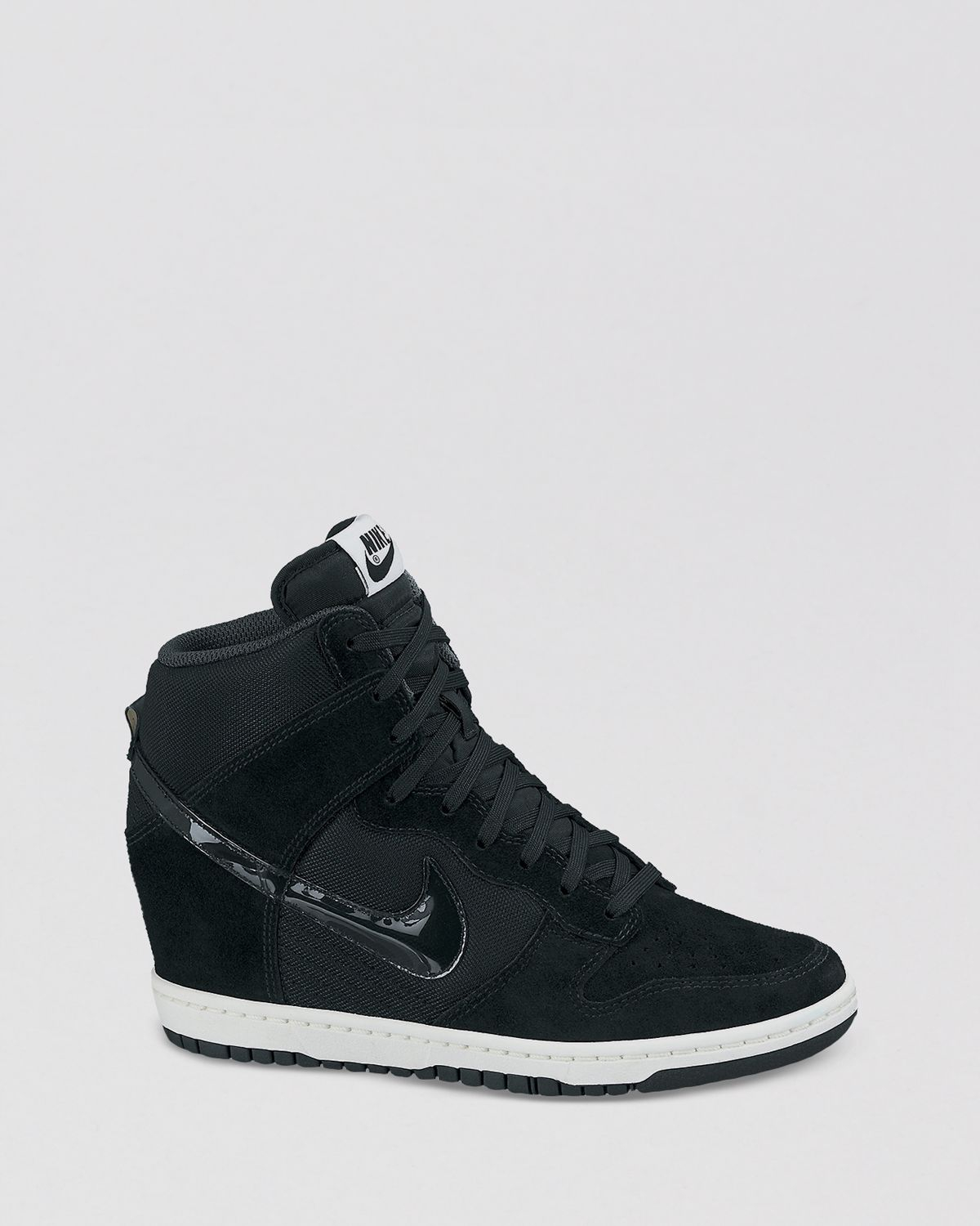new concept 77ac6 446ce ... sky hi essential black 436ff b1a61  buy gallery. previously sold at  bloomingdales womens wedge sneakers womens nike dunk womens nike dunk