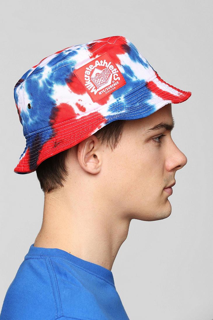 cfabe72174fcdb Milkcrate Athletics Milkcrate Athletics Usa Tiedye Bucket Hat for ...