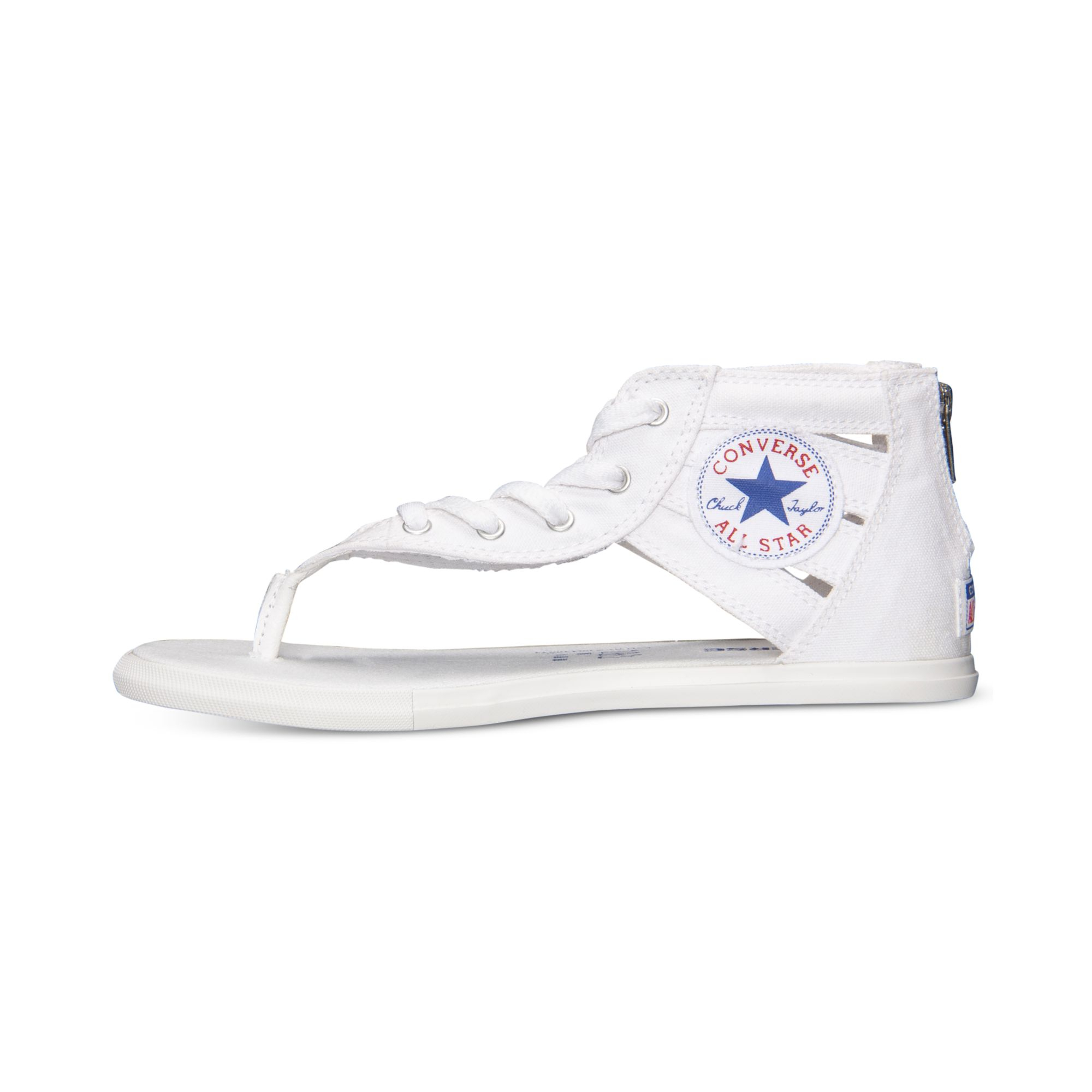Lyst - Converse Women s Chuck Taylor Gladiator Thong Sandals From ... a86dc9a3d