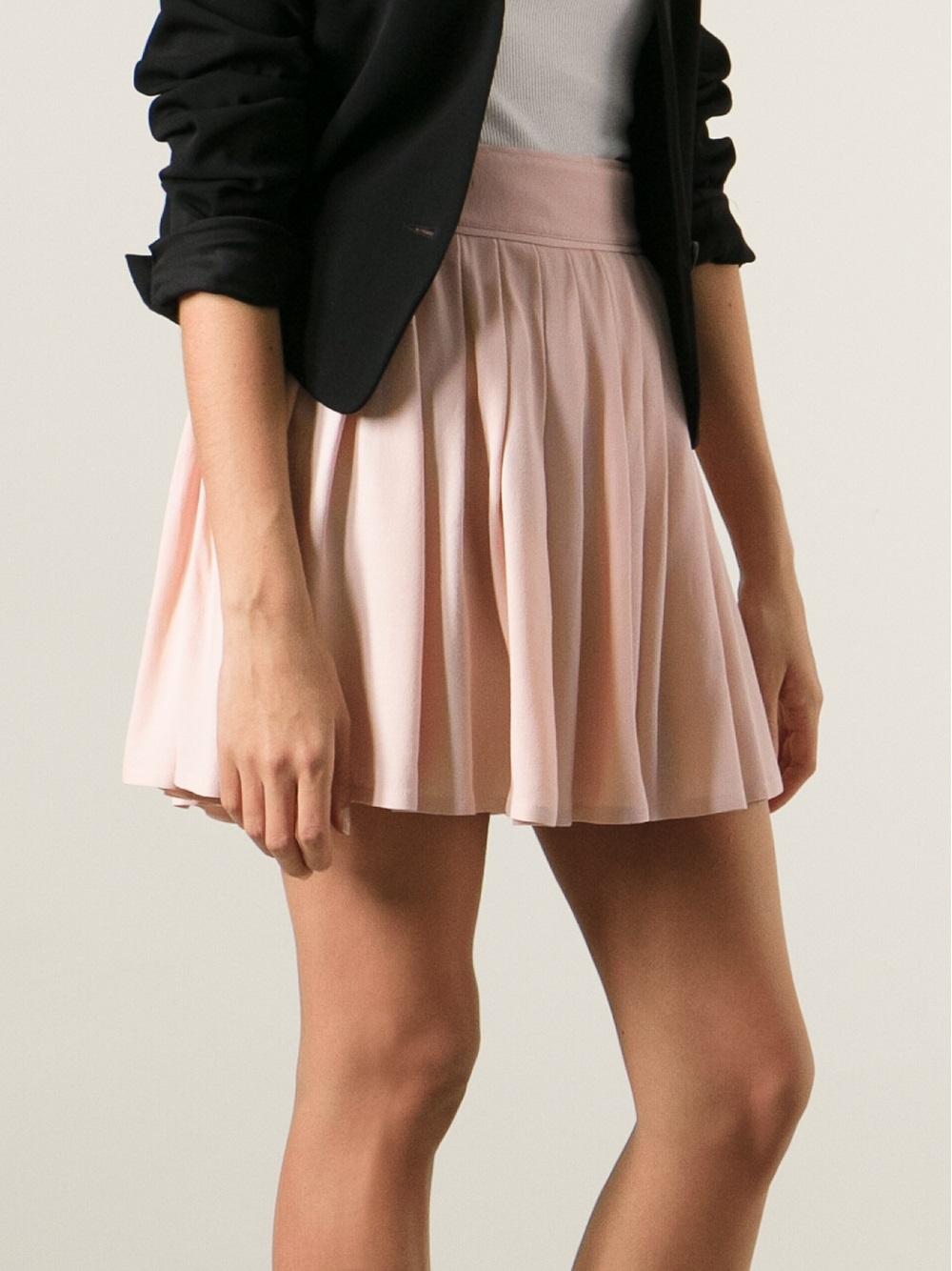 Red Valentino gathered mini skirt Pictures For Sale 8KbZoSH8
