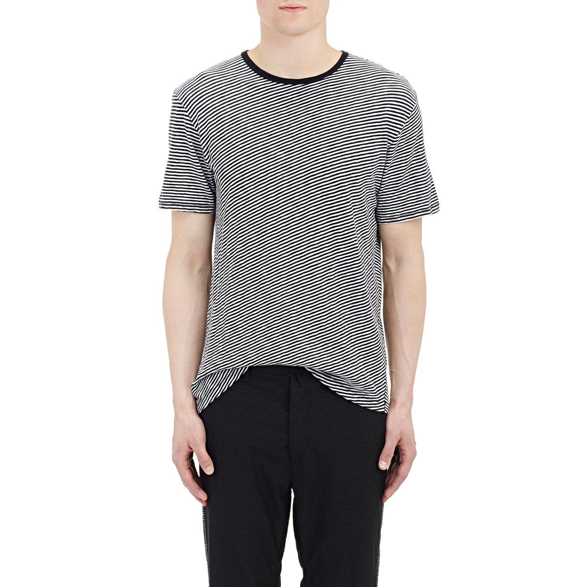 T Shirt Rag Dispenser ~ Lyst rag bone rupert t shirt in black for men