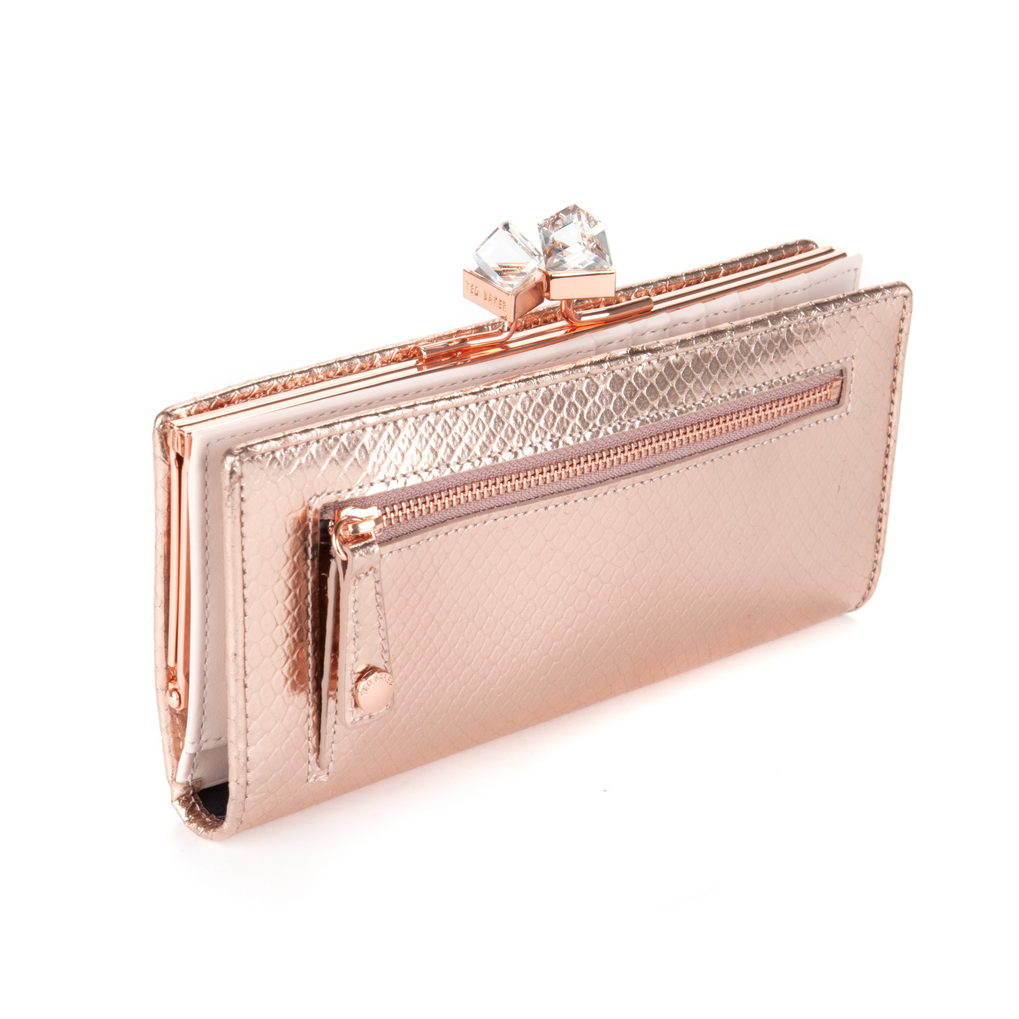 b1e3be9d959533 Ted Baker Annge Square Matinee Purse In Pink Lyst