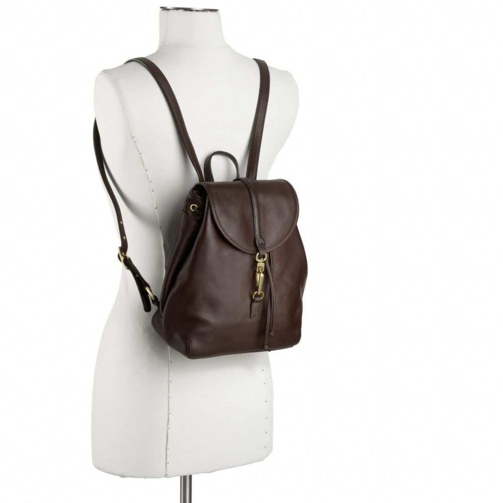 coach leather backpack outlet 7lyl  Coach Studio Legacy Leather Backpack In Natural Lyst