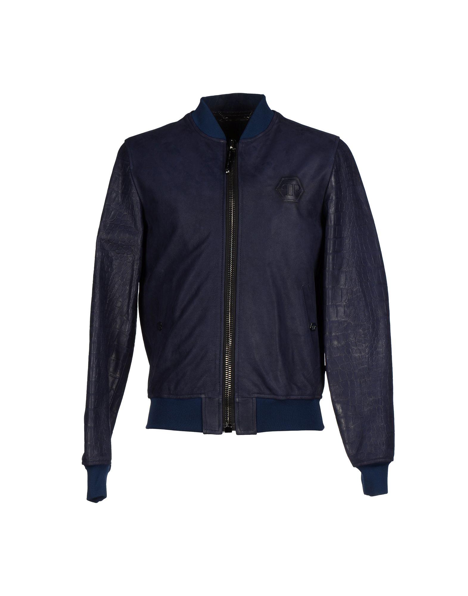 philipp plein jacket in blue for men lyst. Black Bedroom Furniture Sets. Home Design Ideas