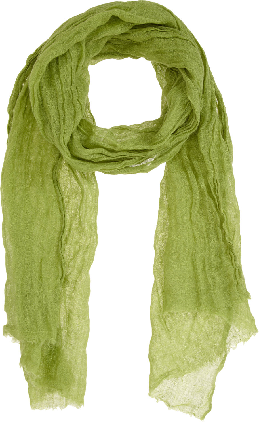 f0bfc491bfc Lyst - Colombo Airy Linen Scarf in Green for Men