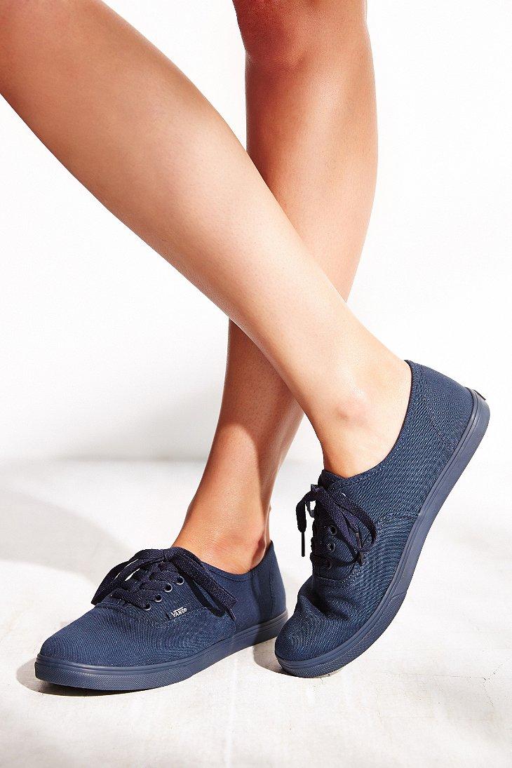 72b6e6952994 Lyst - Vans Authentic Lo Pro Monotone Sneaker in Blue