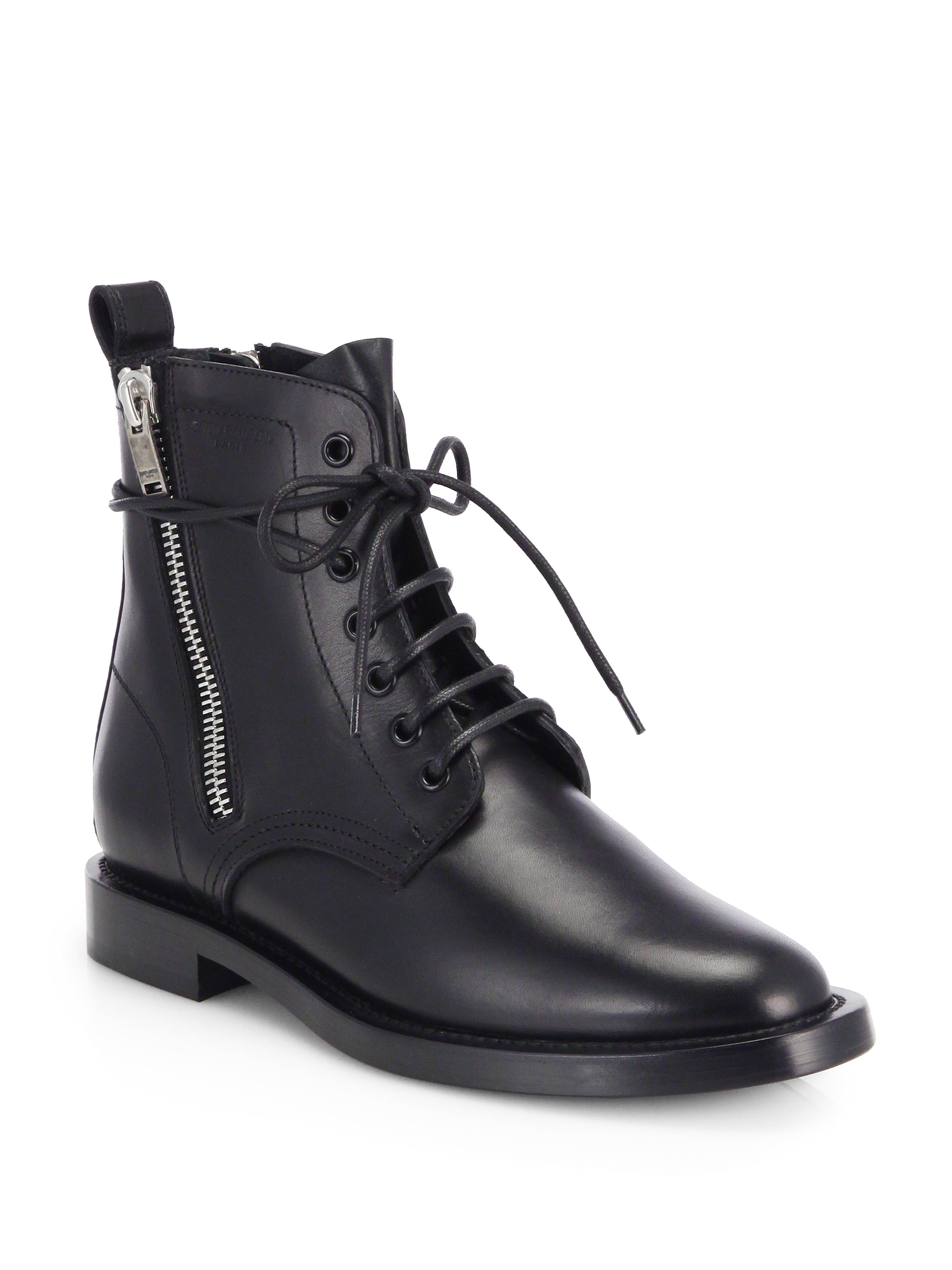 cheapest price sale online Saint Laurent Black Suede Army Ranger Boots cheap brand new unisex 7VF47U