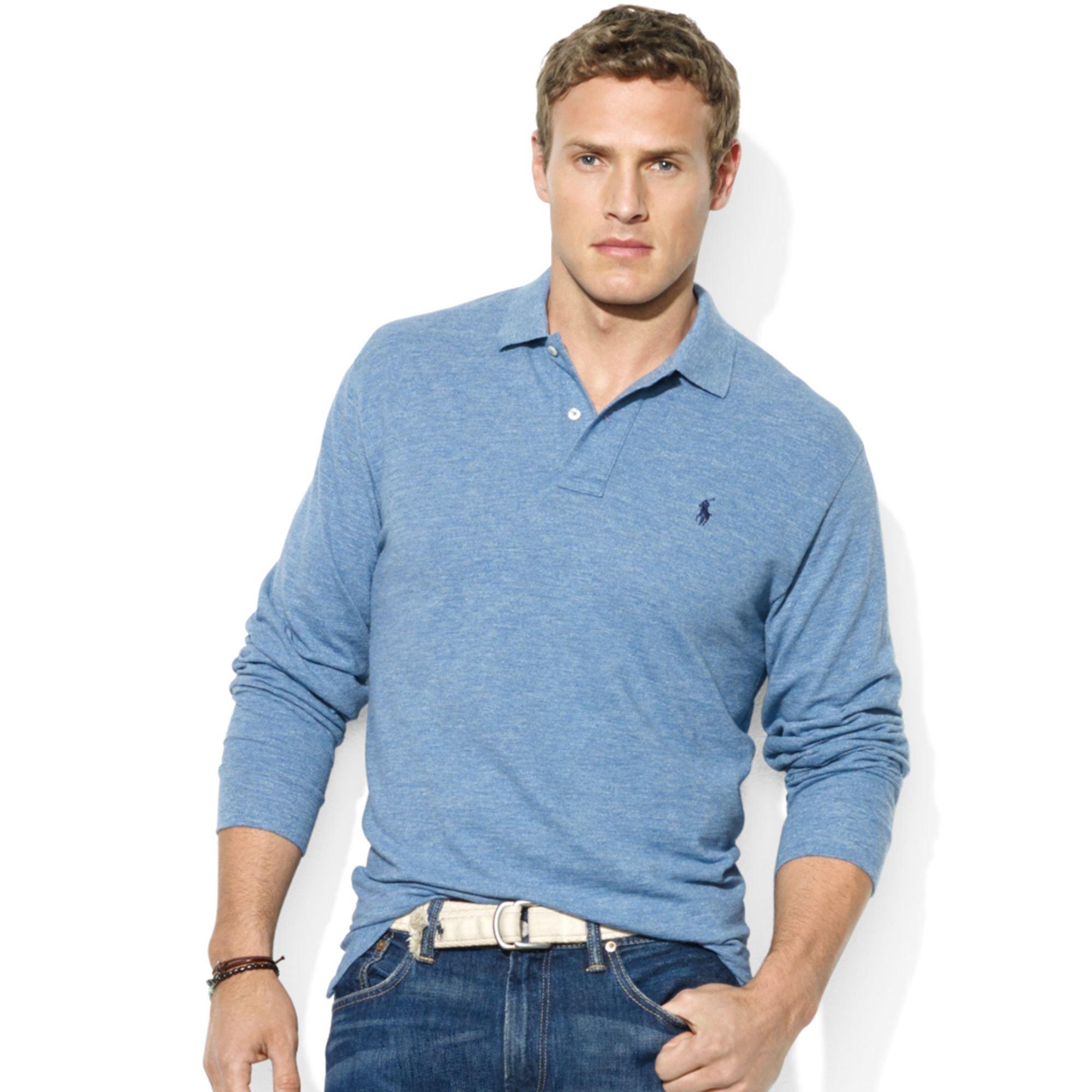 73894438325c Ralph Lauren New York Darkblue Short Sleeved Polo Men - Jaimonvoyage.com