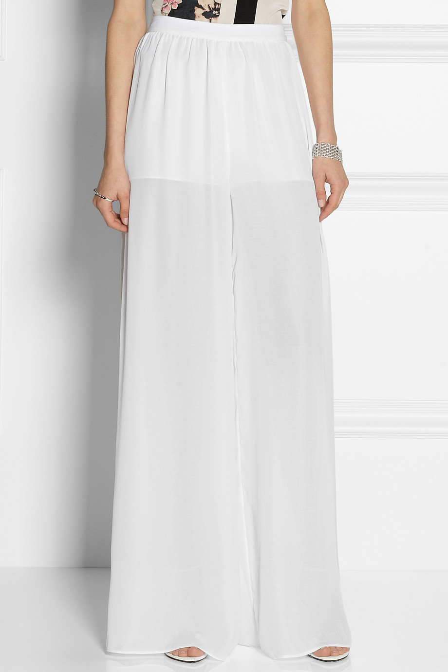 Find great deals on eBay for white chiffon pants. Shop with confidence.