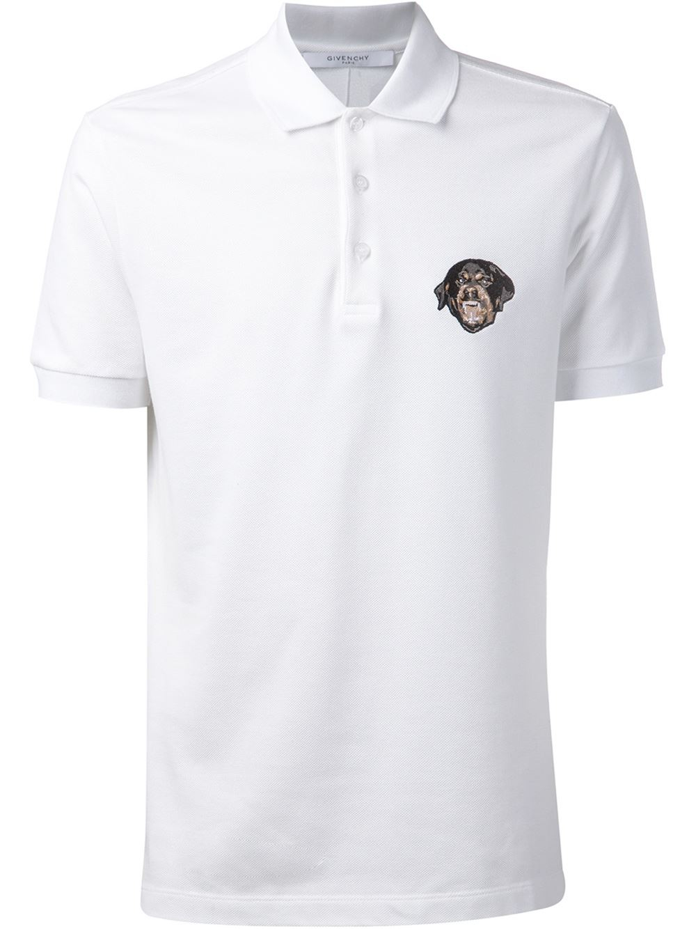 White Polo Shirt Men