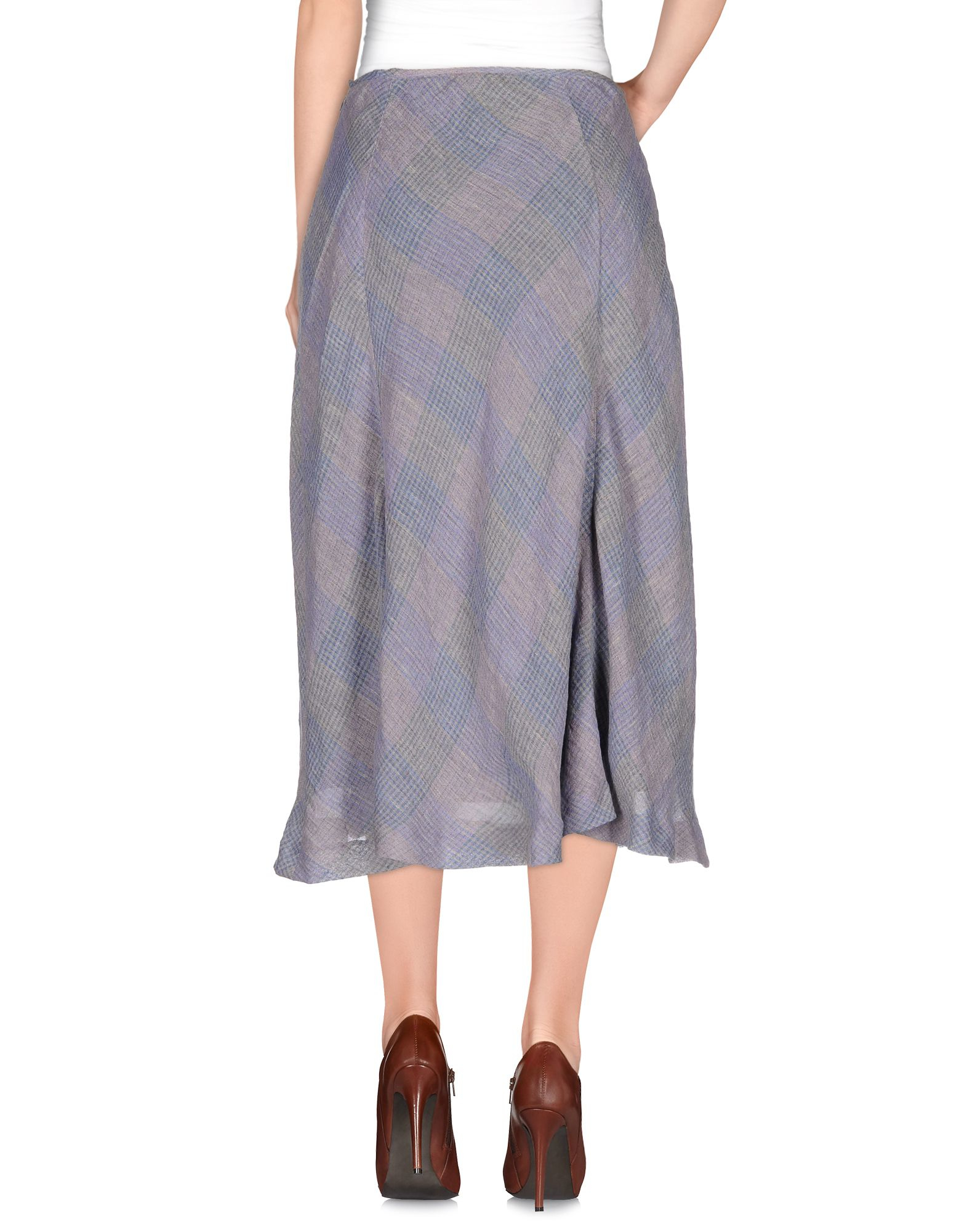 Lilith 3 4 Length Skirt In Purple Lyst