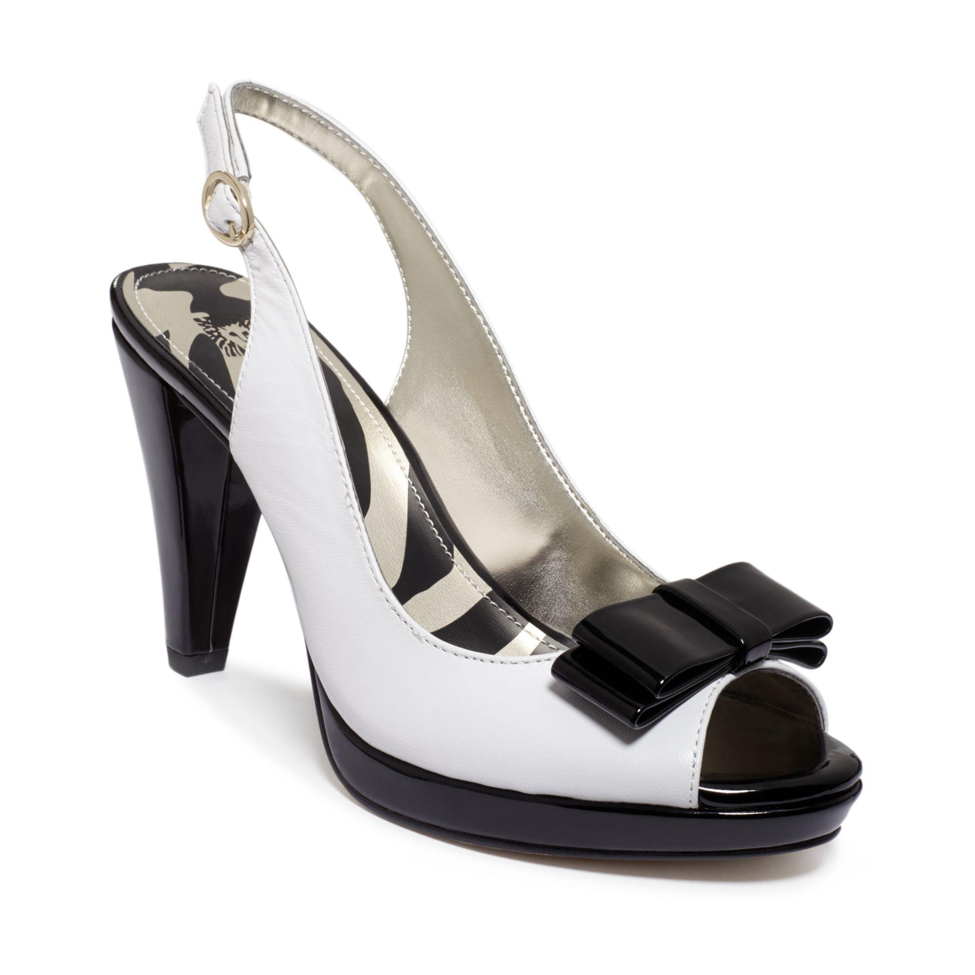 Lyst Anne Klein Europa Platform Sandals In Black