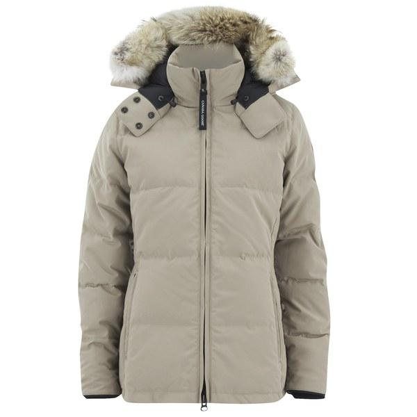 canada goose vest tan