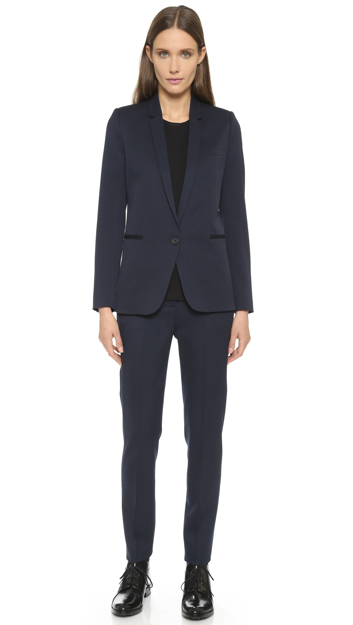 The kooples Timeless Suit Jacket - Navy in Blue | Lyst