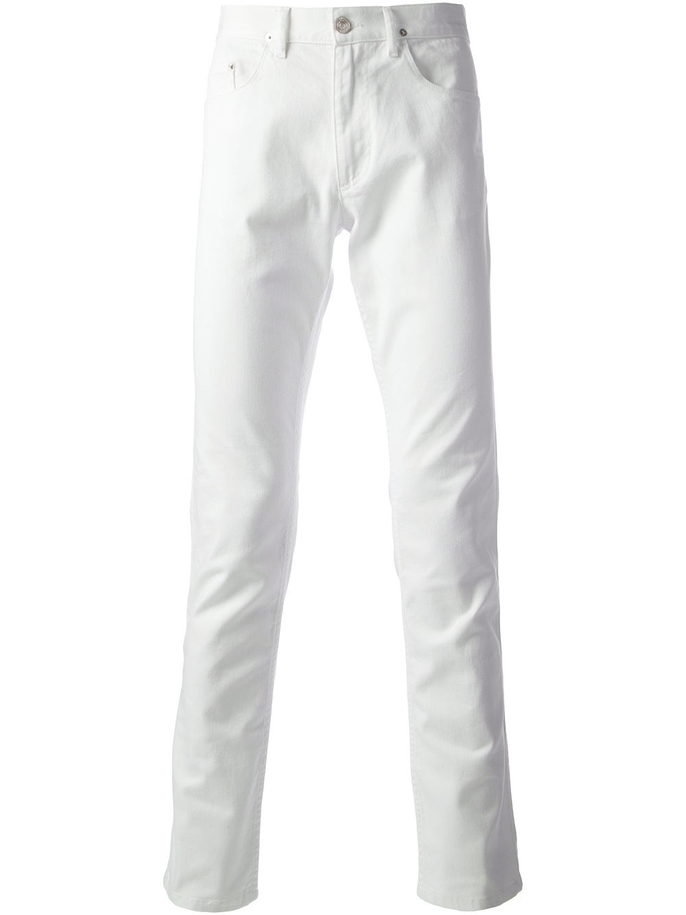 Kenzo Skinny Jeans in White for Men | Lyst