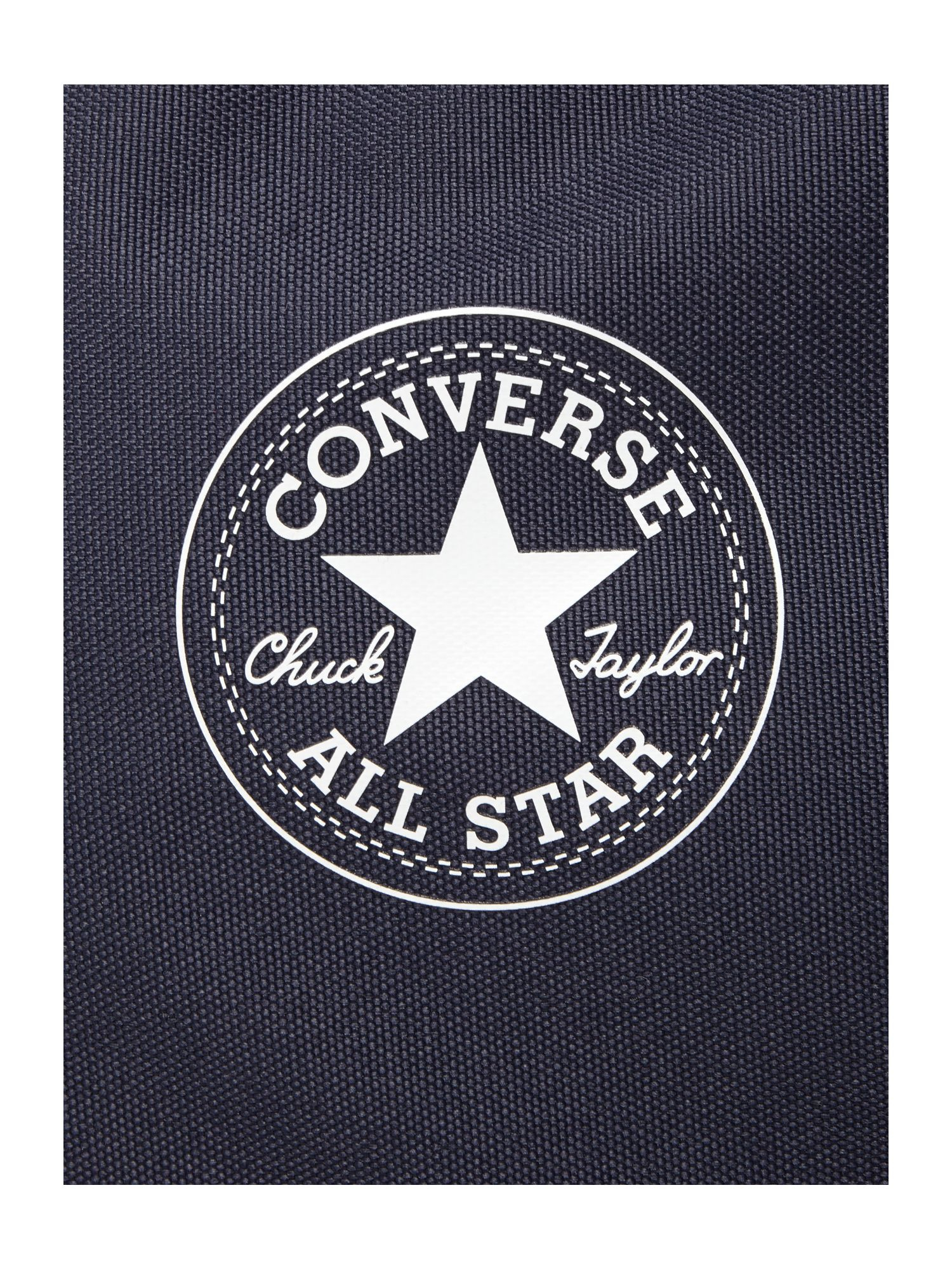 Converse Horizontal Zip Back Pack in Black for Men - Lyst 1a331b921c