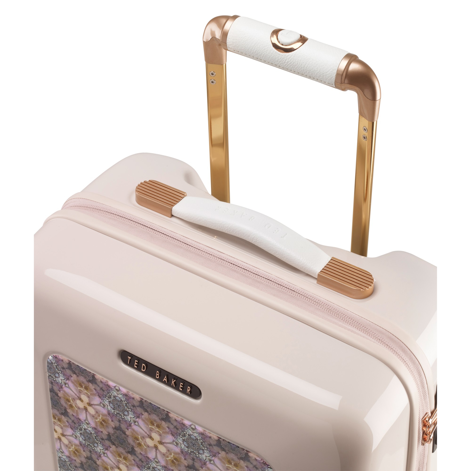 a4ba23fe8edc95 Ted Baker Geo Print 4-wheel 79.5cm Large Suitcase in Natural - Lyst