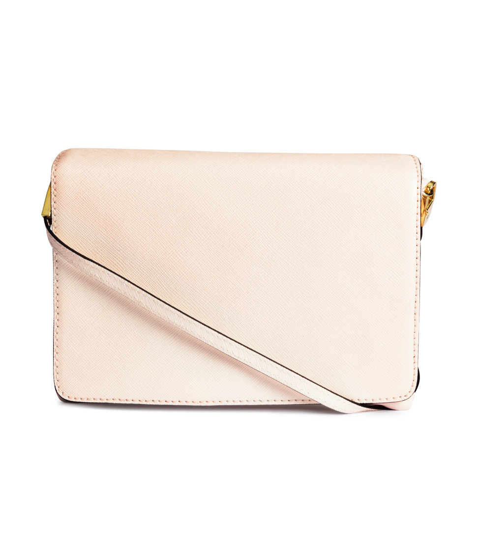 H&m Small Shoulder Bag in White   Lyst