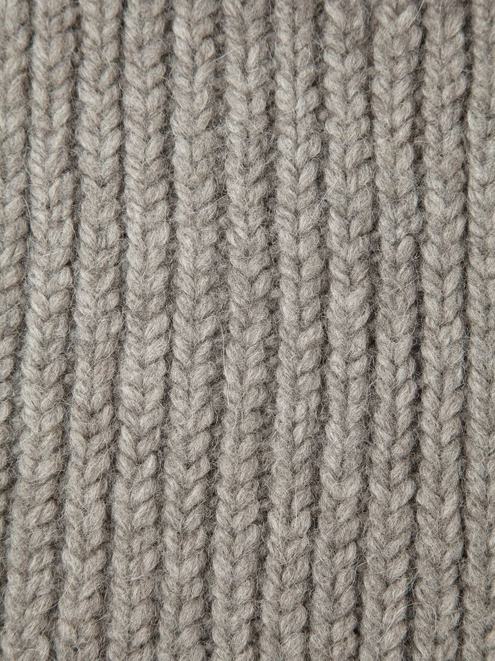 Lyst - Ann Demeulemeester Grise Ribbed Knit Scarf in Gray for Men