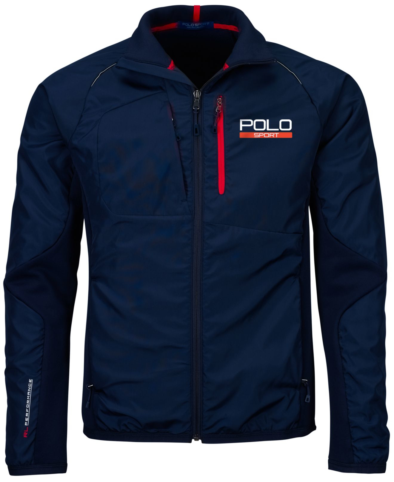 lyst polo ralph lauren polo sport hybrid tech jacket in. Black Bedroom Furniture Sets. Home Design Ideas