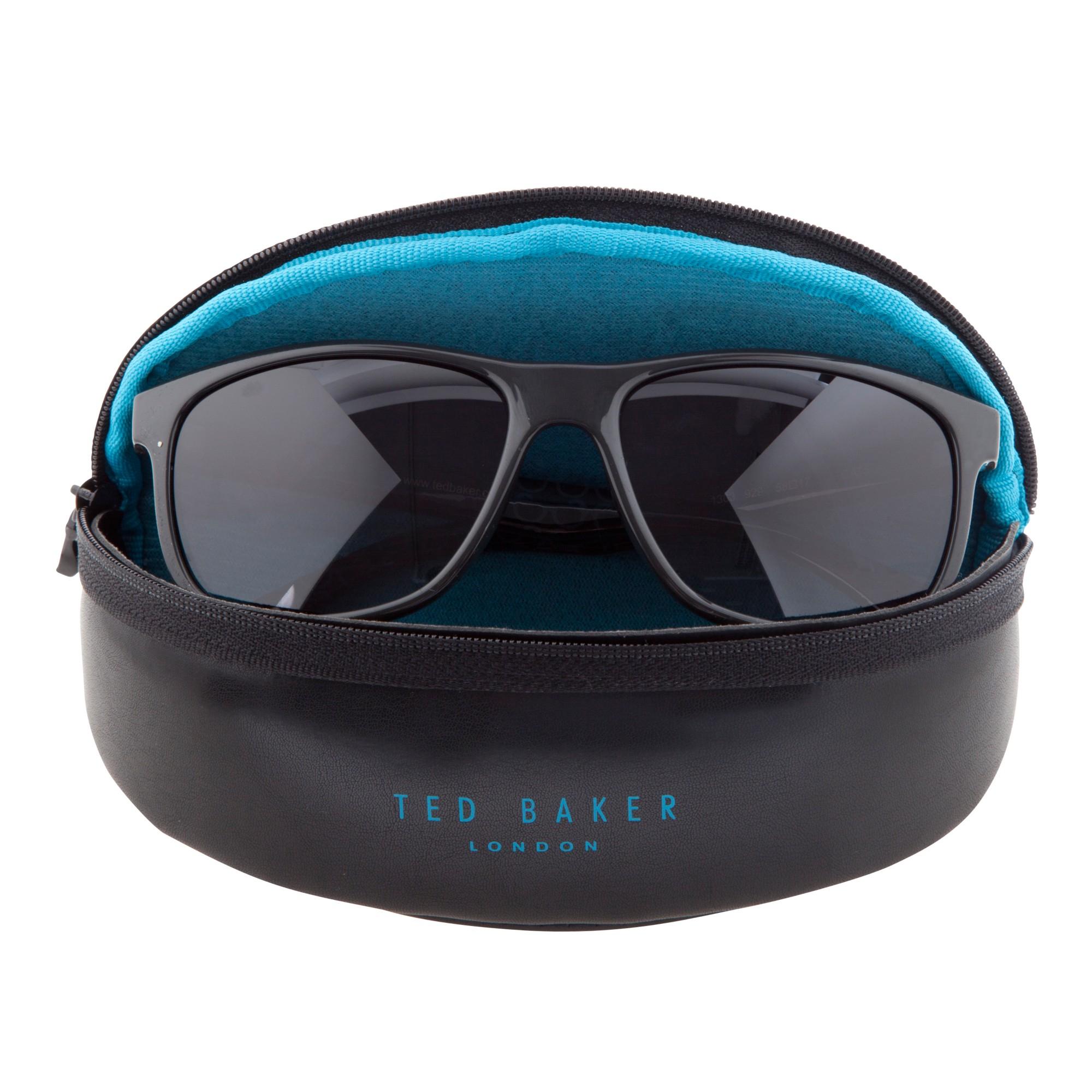 e79971281 Ted Baker Tb1303 Rectangular Framed Sunglasses in Gray - Lyst