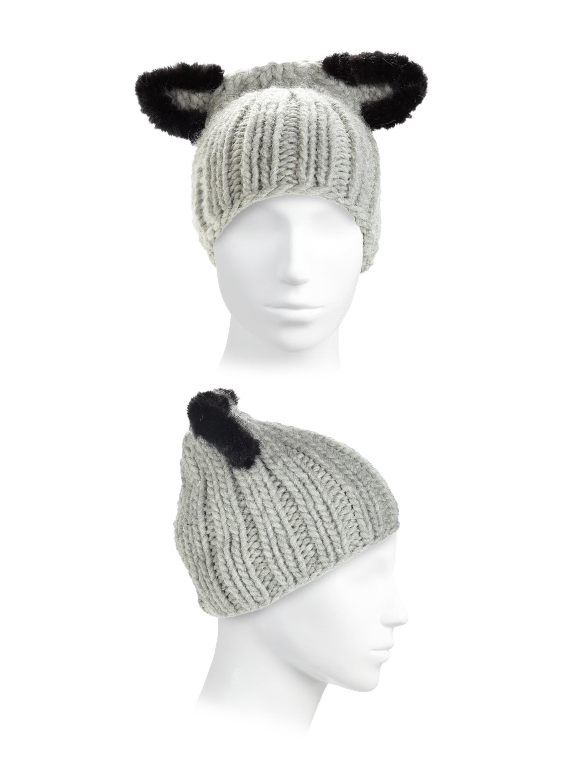 a4225bd8994 Lyst - Eugenia Kim Felix Fur-trim Cat-ear Skull Cap in Black