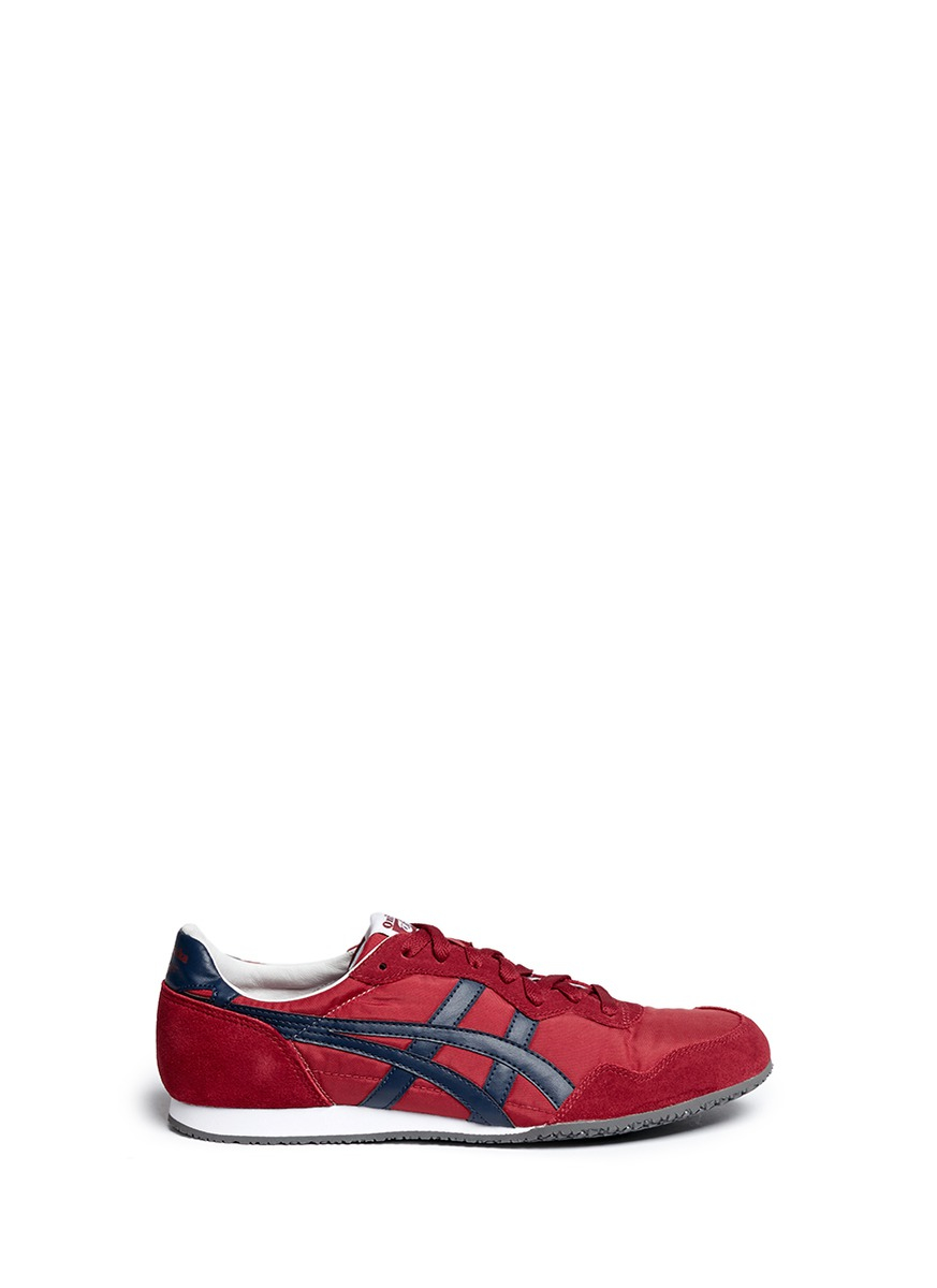 Onitsuka Tiger Serrano Sneakers In Red Lyst
