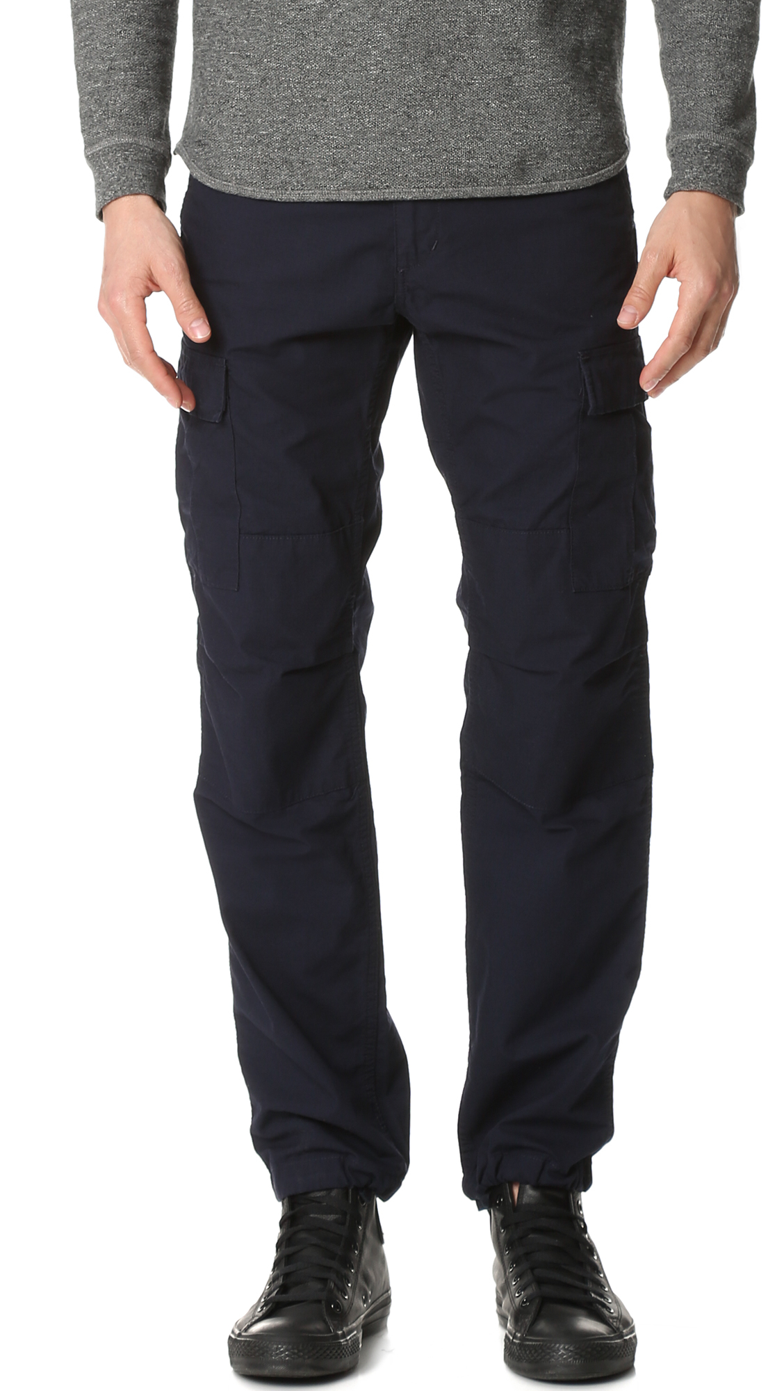 Aviation Rinsed Blue Carhartt Pants For Wip Lyst In Men YqwtS4E