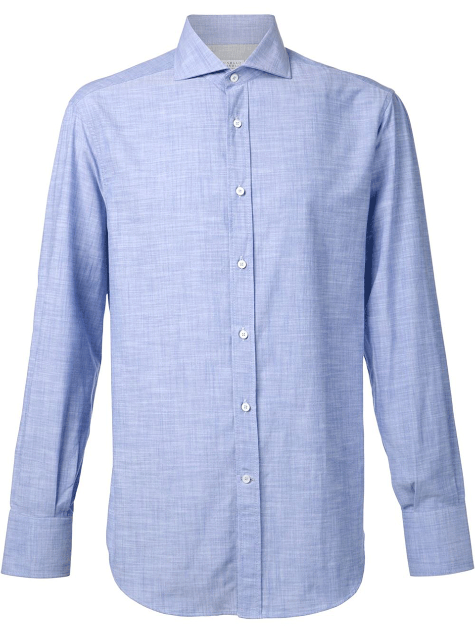 Lyst brunello cucinelli spread collar oxford shirt in for Men s spread collar shirts