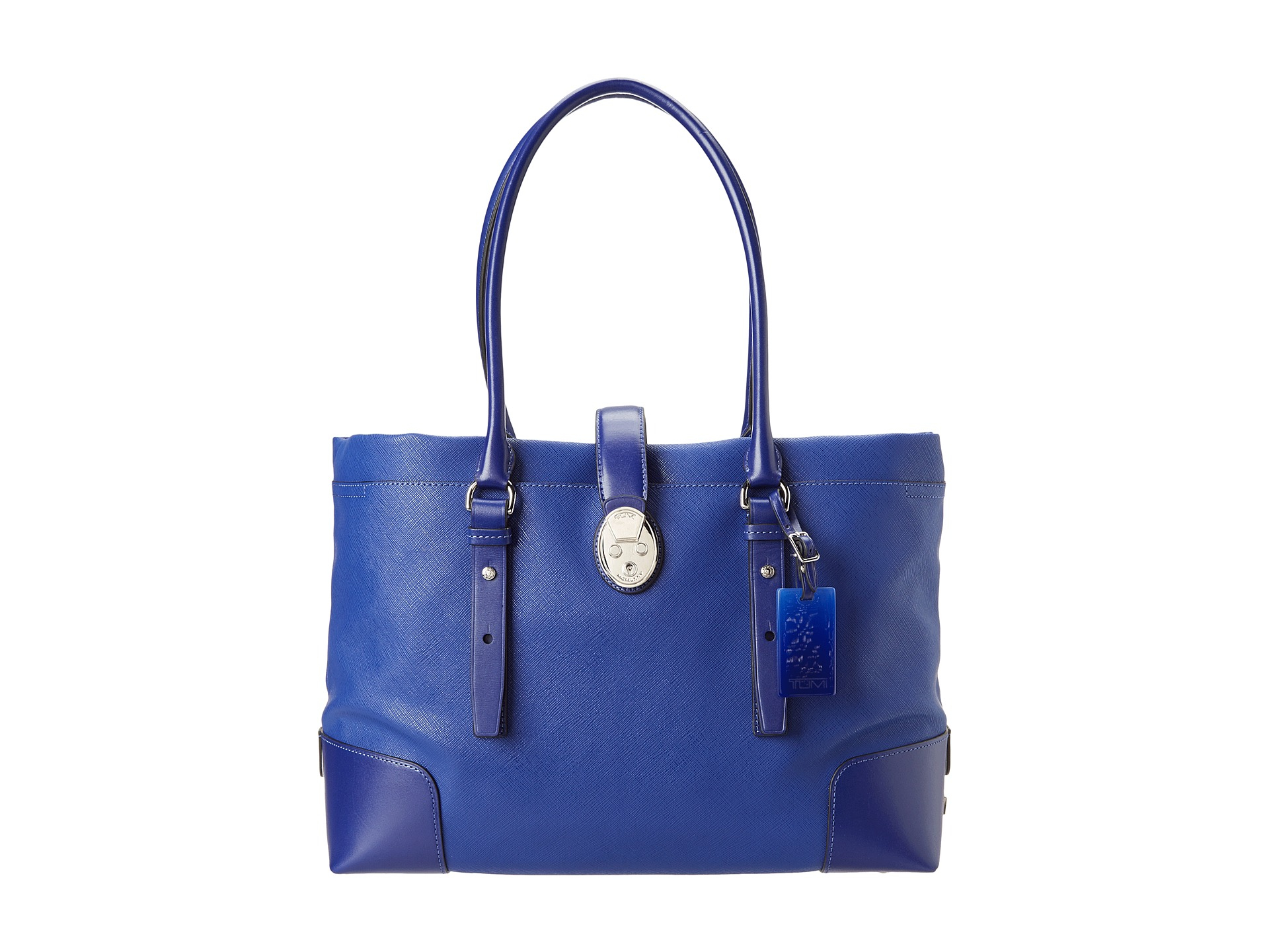 55ea2c91a667 Lyst - Tumi Villa Turin Shopper Tote in Blue