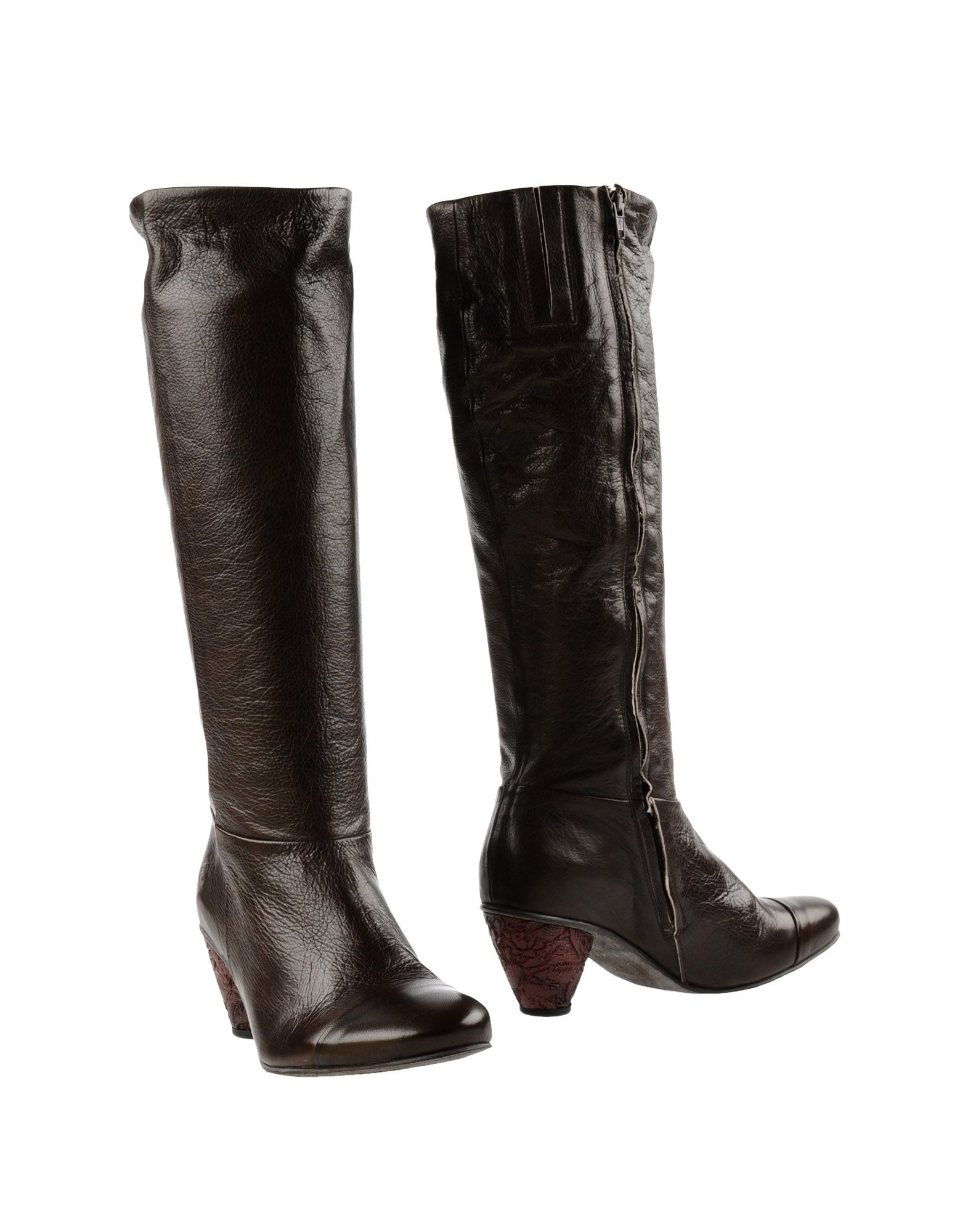 fly boots in brown lyst
