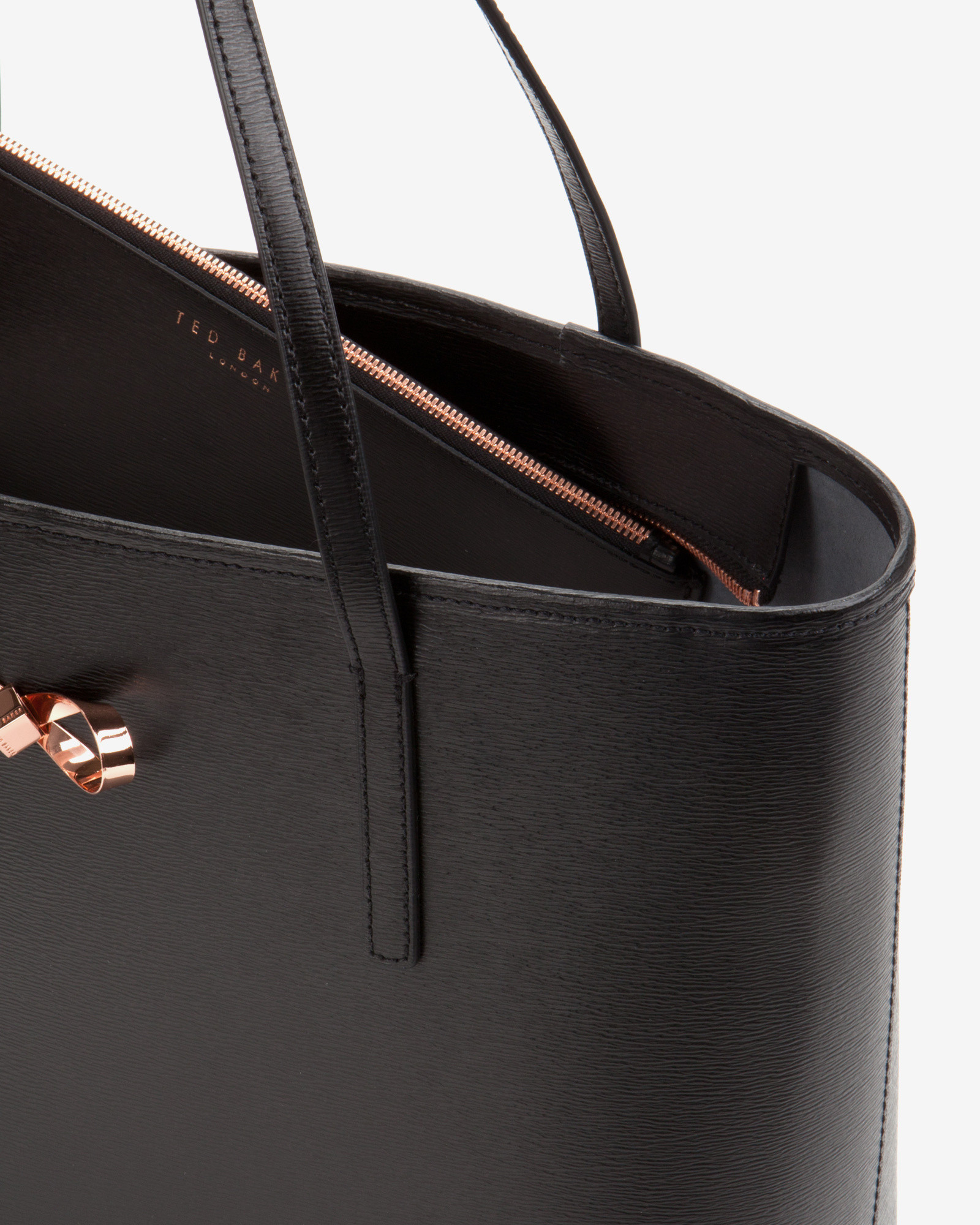 Ted Baker Purse Black And Rose Gold Best Image Ccdbb