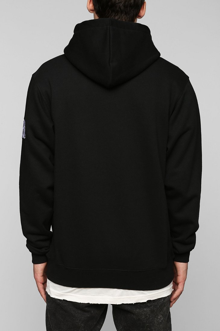 Black scale Rebirth Pullover Hoodie Sweatshirt in Black for Men | Lyst