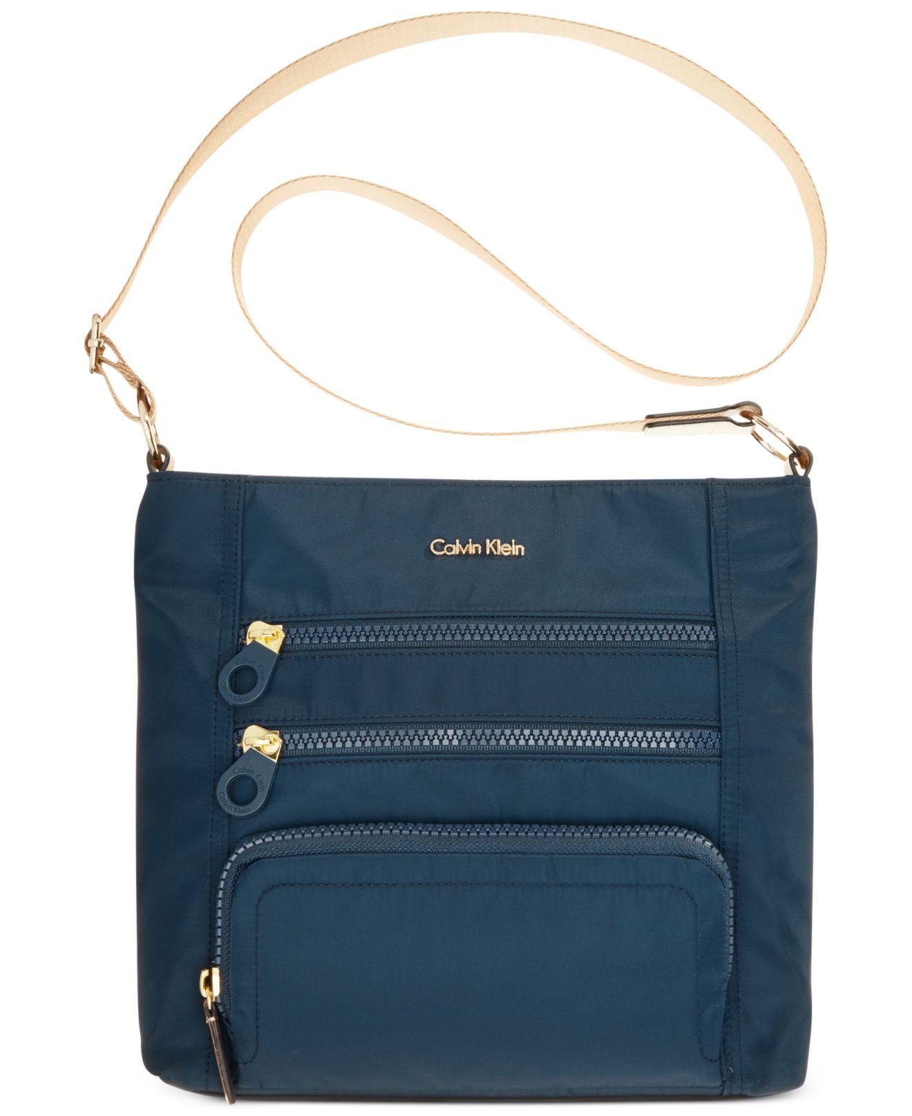 Calvin Klein Navy Travel Bag