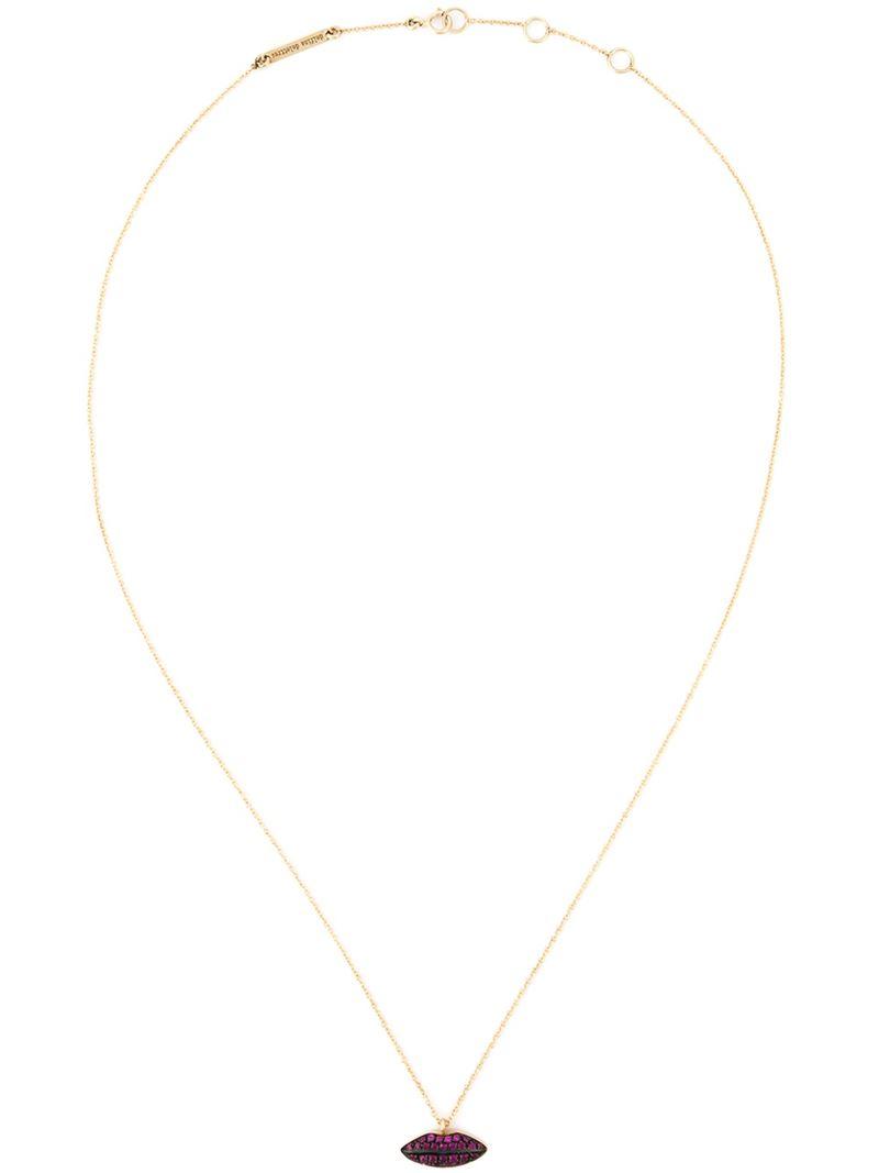 Delfina Delettrez Ruby & yellow-gold necklace 1uuOhKY