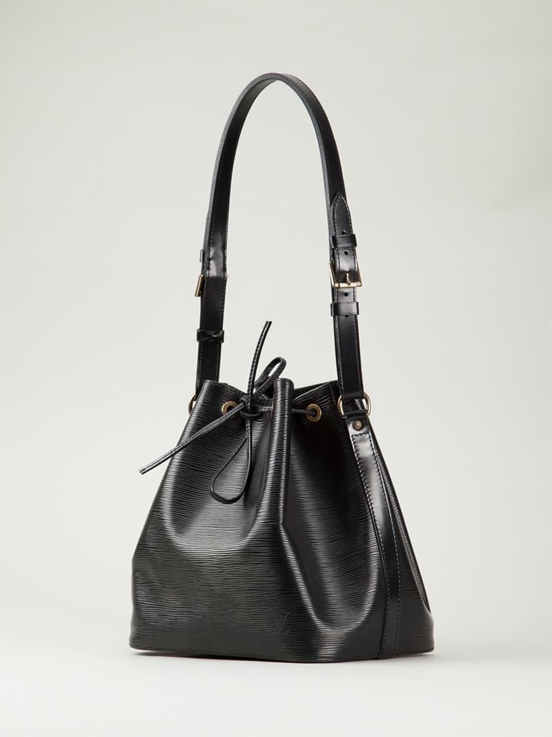 Lyst Louis Vuitton Small Noe Shoulder Bag In Black
