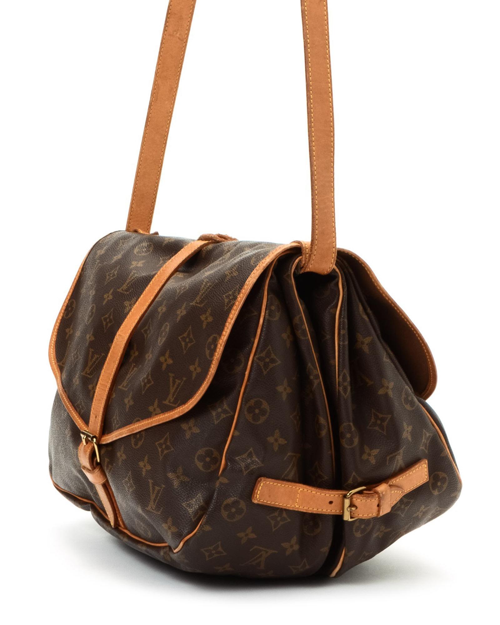 c37cff958093 Lyst - Louis Vuitton Messenger Bag - Vintage in Brown for Men