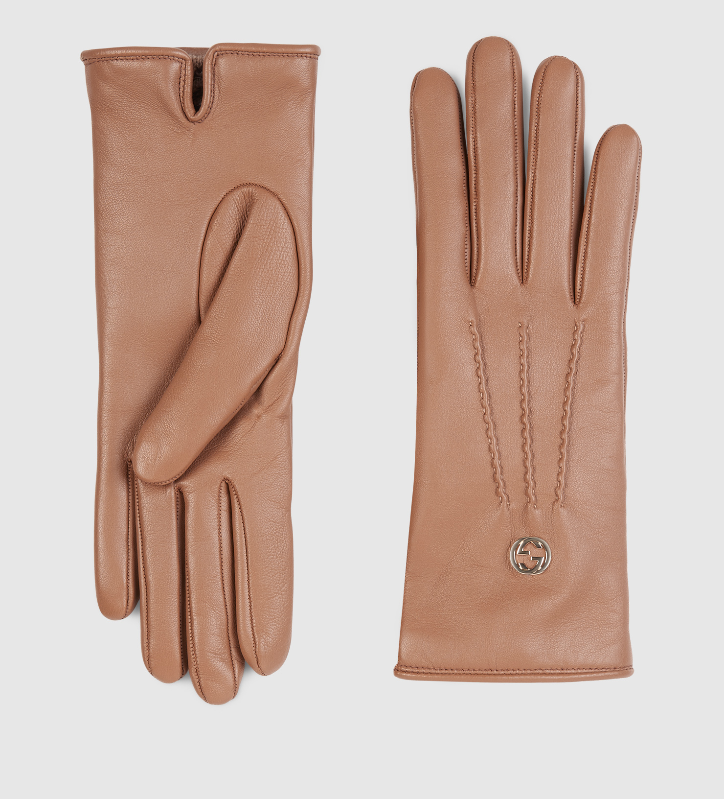 Womens beige leather gloves - Gallery Women S Leather Gloves