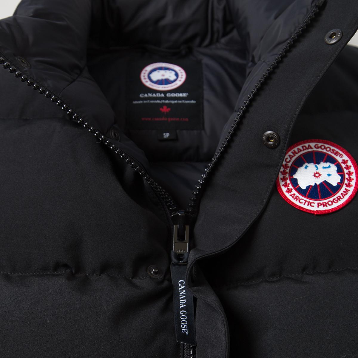 Canada Goose vest sale shop - Canada goose Freestyle Vest in Black for Men | Lyst