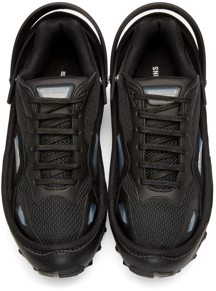 c9eb7e961103 Lyst - Raf Simons Black Adidas By Response Trail Sneakers in Black ...